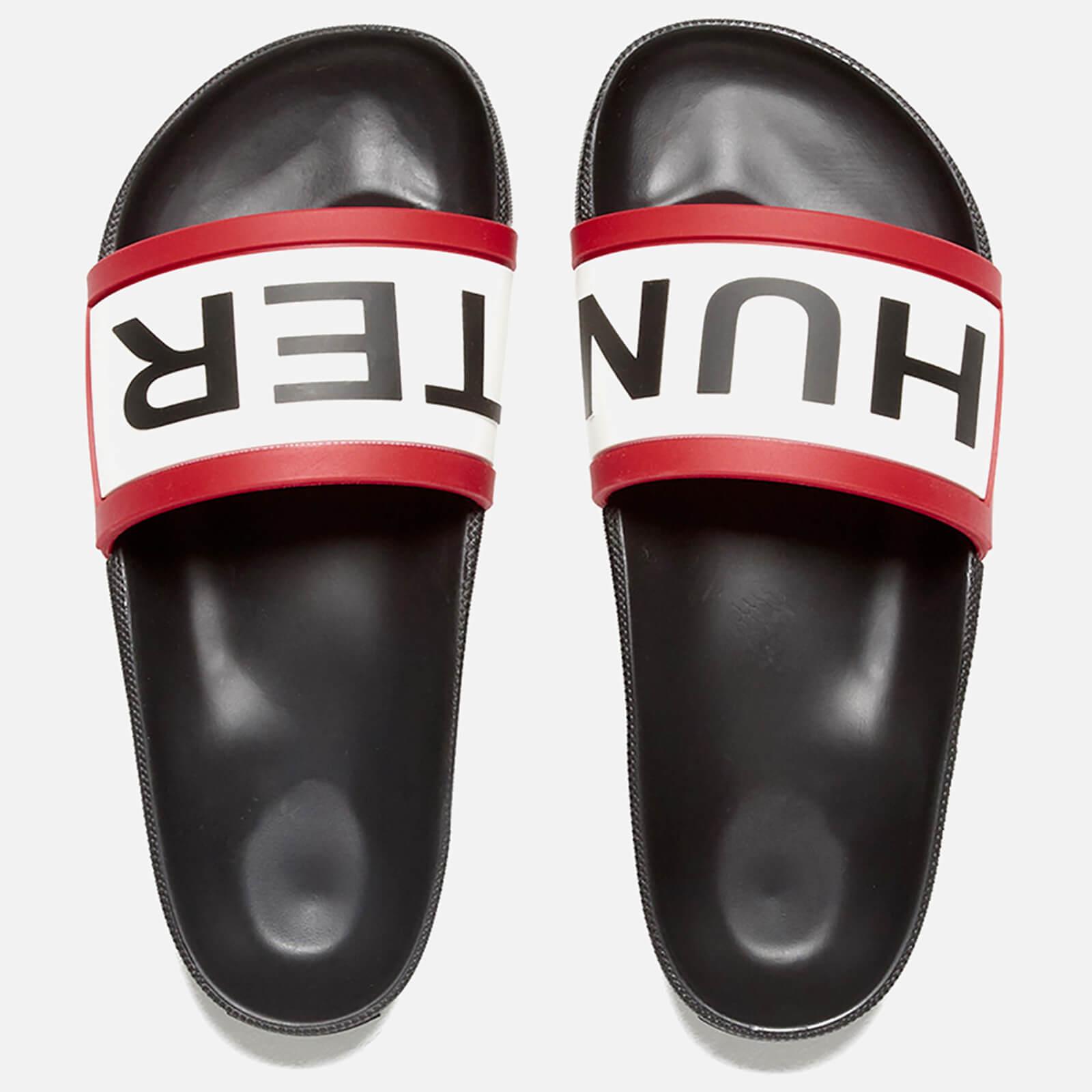3410503bc0255 Hunter Women s Original Slide Sandals - Black - Free UK Delivery over £50