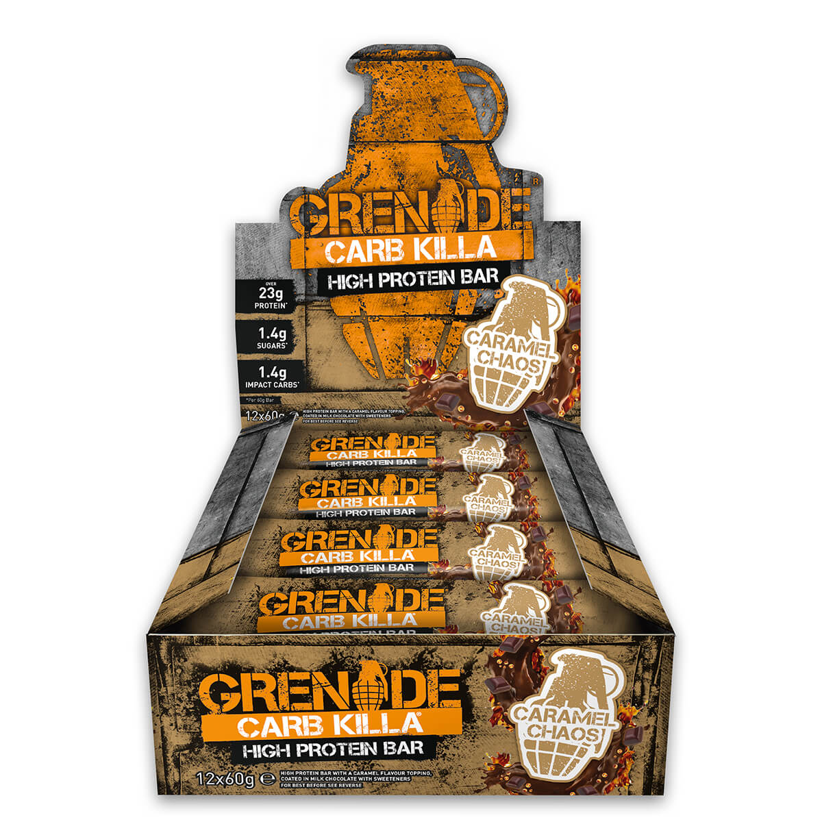 Grenade Carb Killa (12 x 60g) White Chocolate Cookie