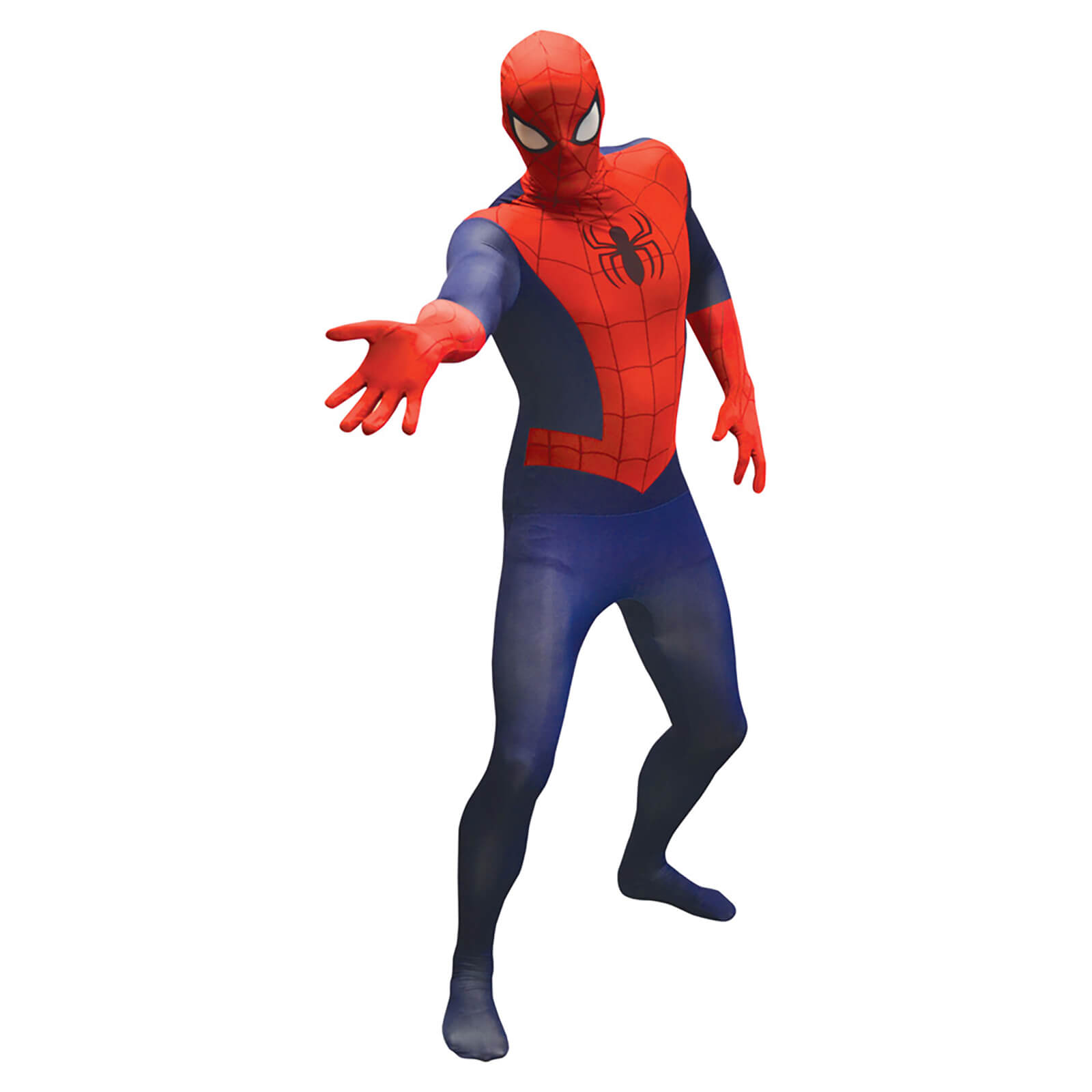 Morphsuit Adults Marvel Spider Man Red Blue Merchandise Zavvi Us Spray Spiderman Sport Description