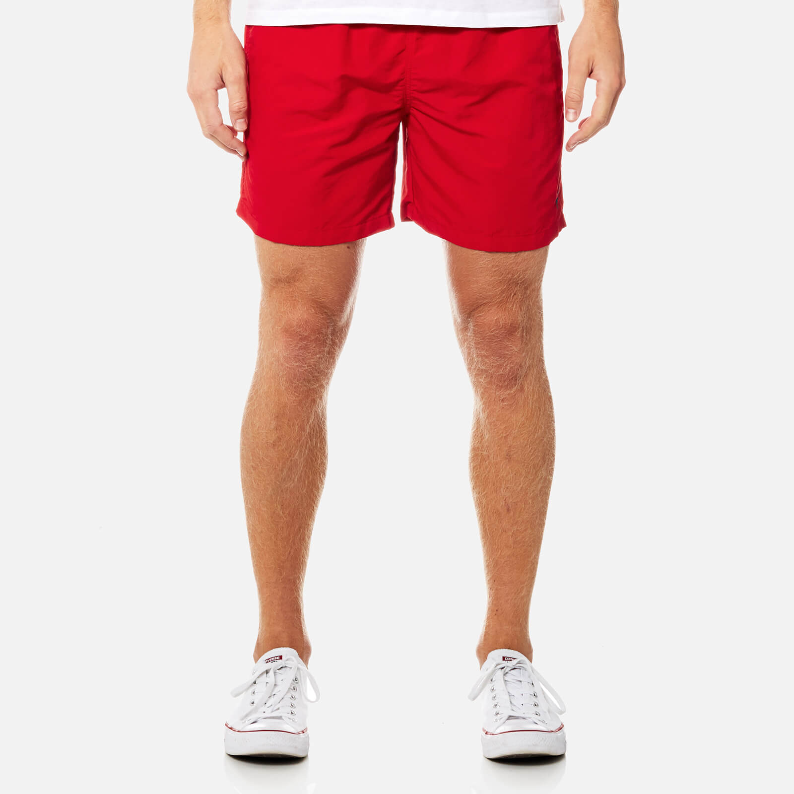 18f814a462 Polo Ralph Lauren Men's Hawaiian Swim Shorts - Red - Free UK Delivery over  £50