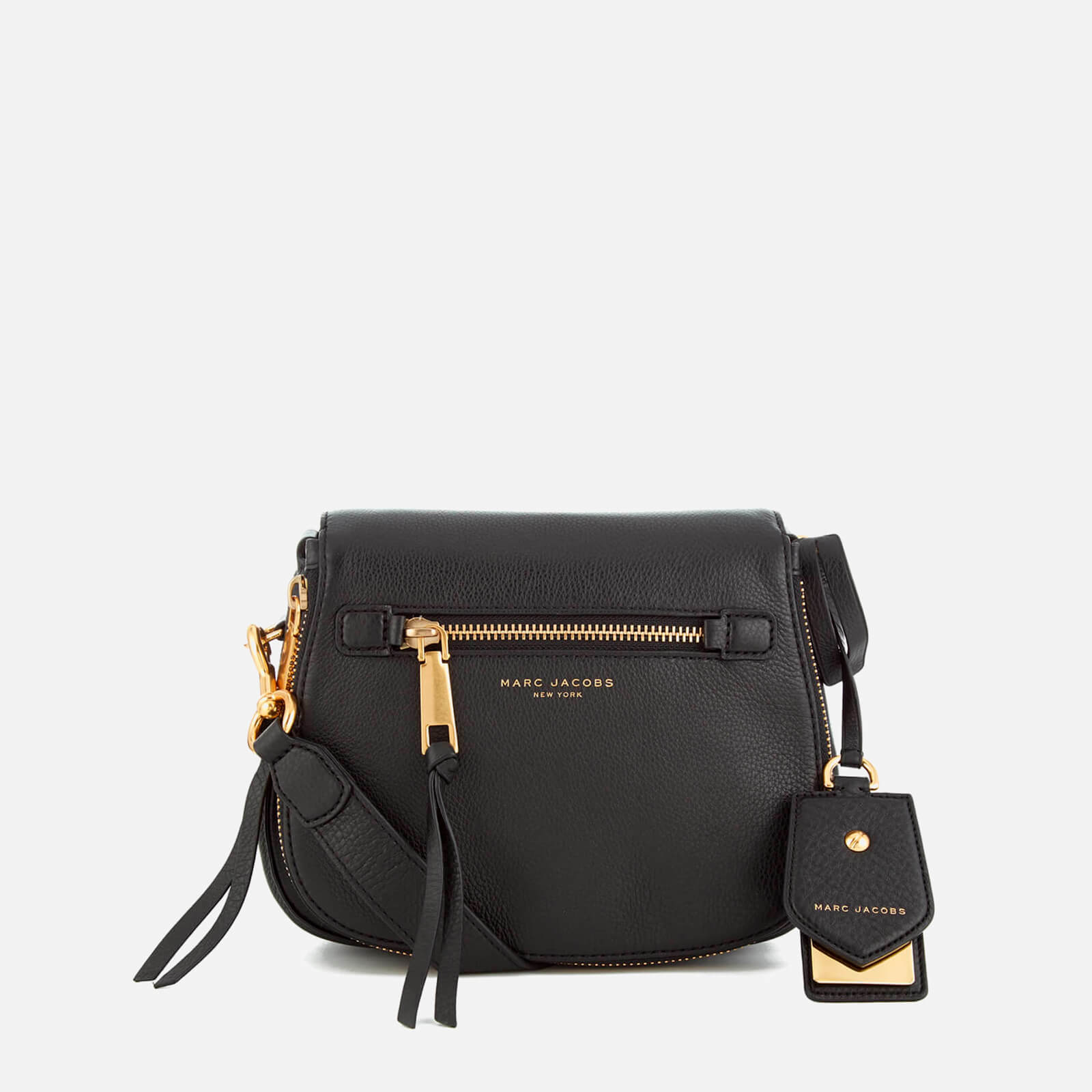 91d634343eda5 Marc Jacobs Women s Recruit Small Saddle Bag - Black - Free UK Delivery  over £50