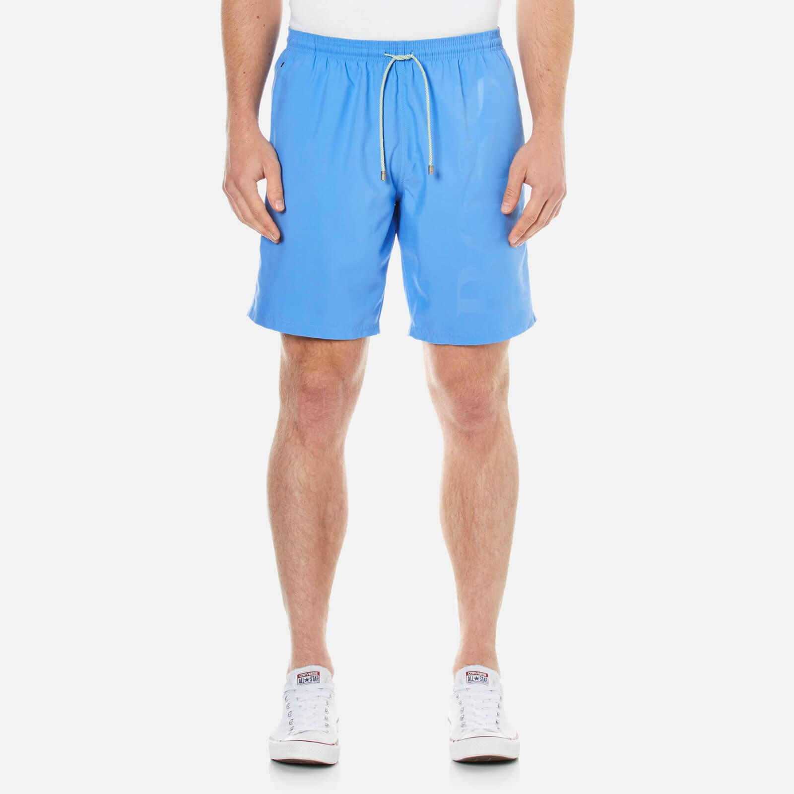 41b7926112 BOSS Hugo Boss Men's Orca Swim Shorts - Blue - Free UK Delivery over £50