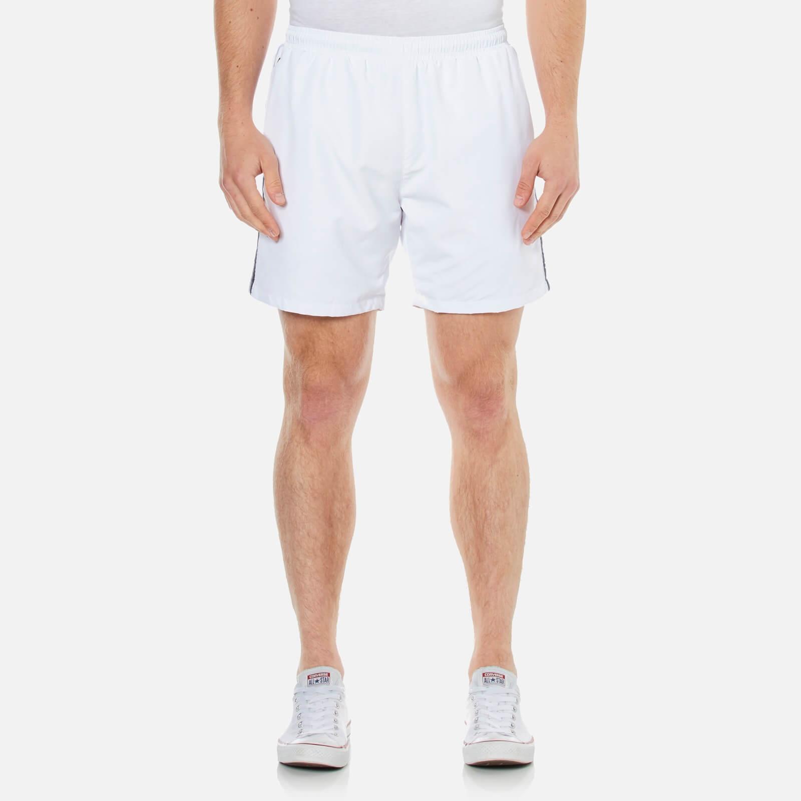 f0f3fa31926e0 BOSS Hugo Boss Men's Seabream Swim Shorts - White - Free UK Delivery over  £50