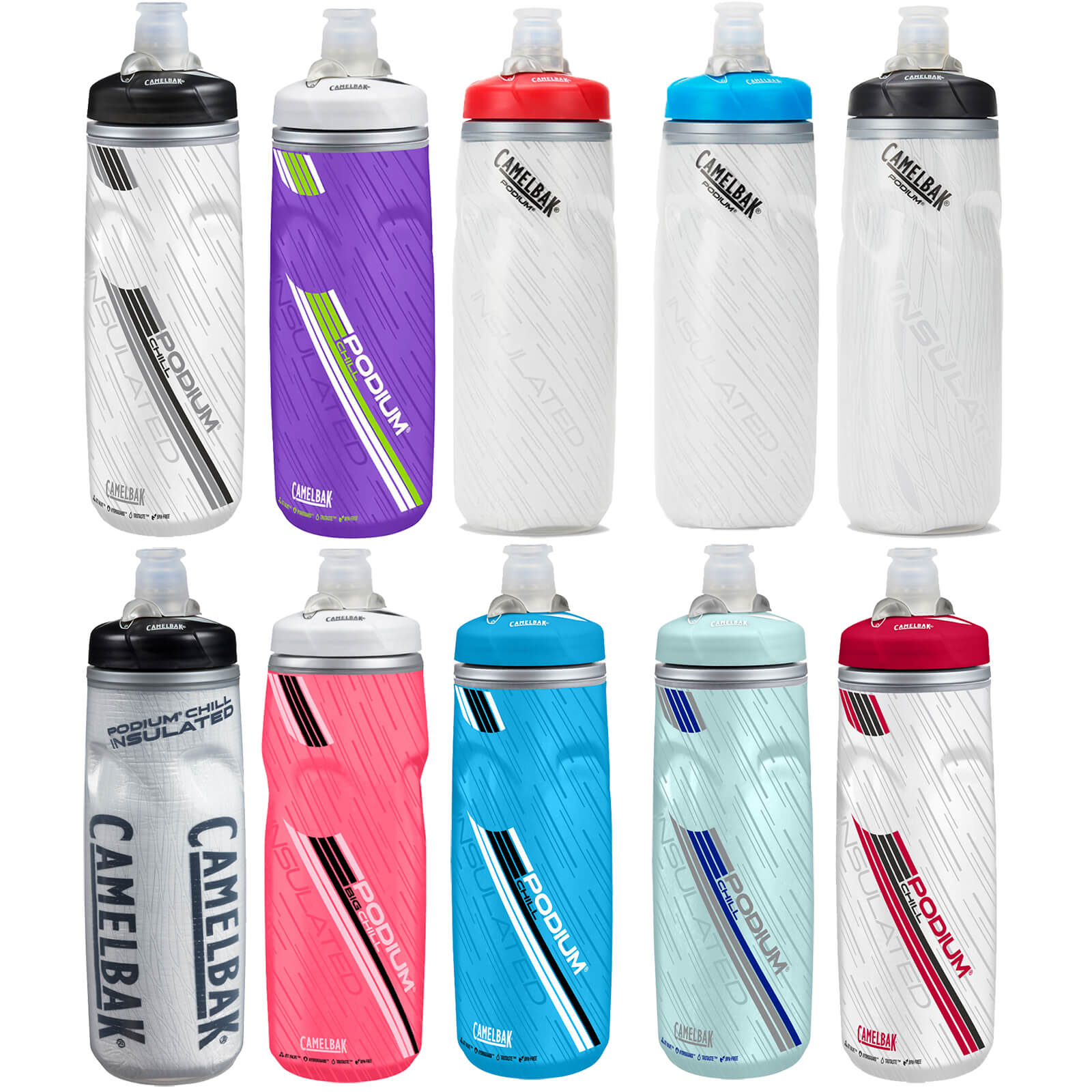 Camelbak Podium Chill Water Bottle 610ml