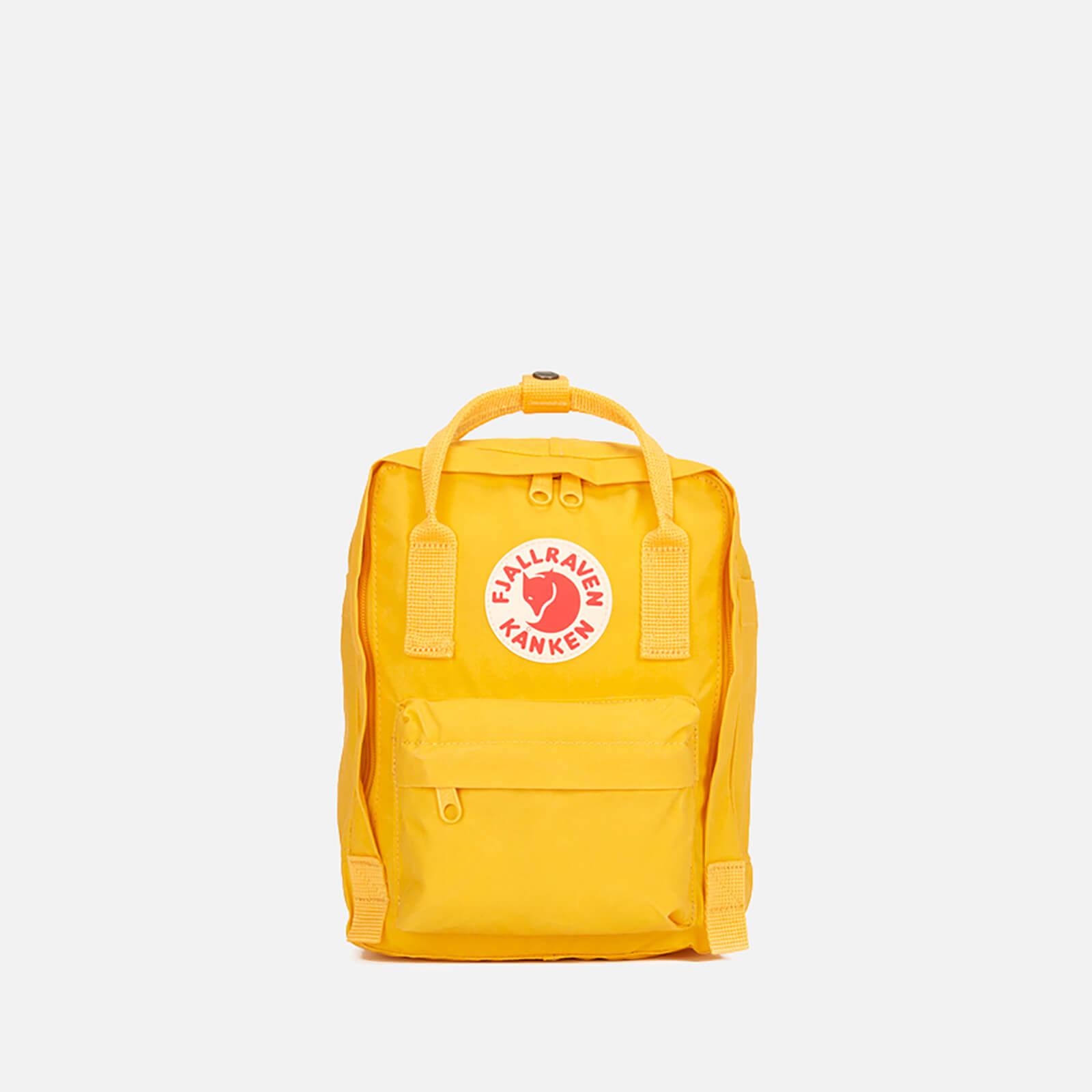 a654a14334 Fjallraven Kanken Mini Backpack - Warm Yellow - Free UK Delivery over £50