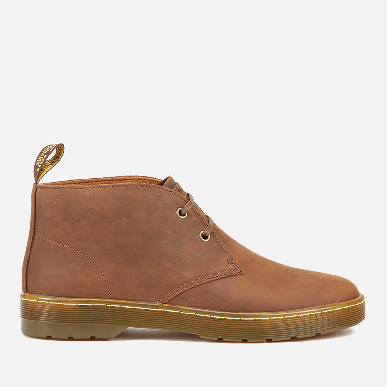 d2516c30d67 Dr. Martens Men's Cabrillo Crazyhorse Leather Desert Boots - Gaucho