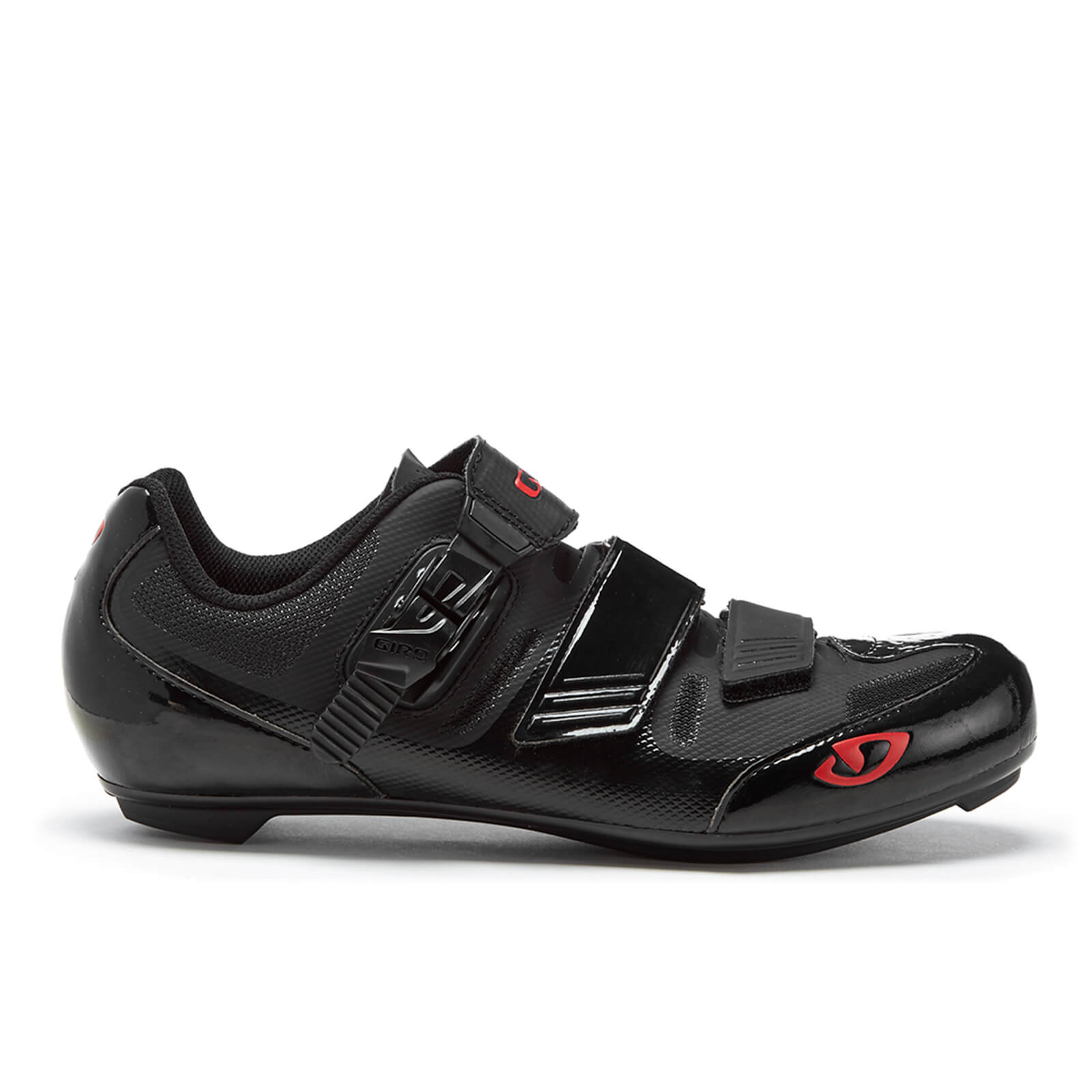 Giro Apeckx II Road Cycling Shoes - Black/Bright Red