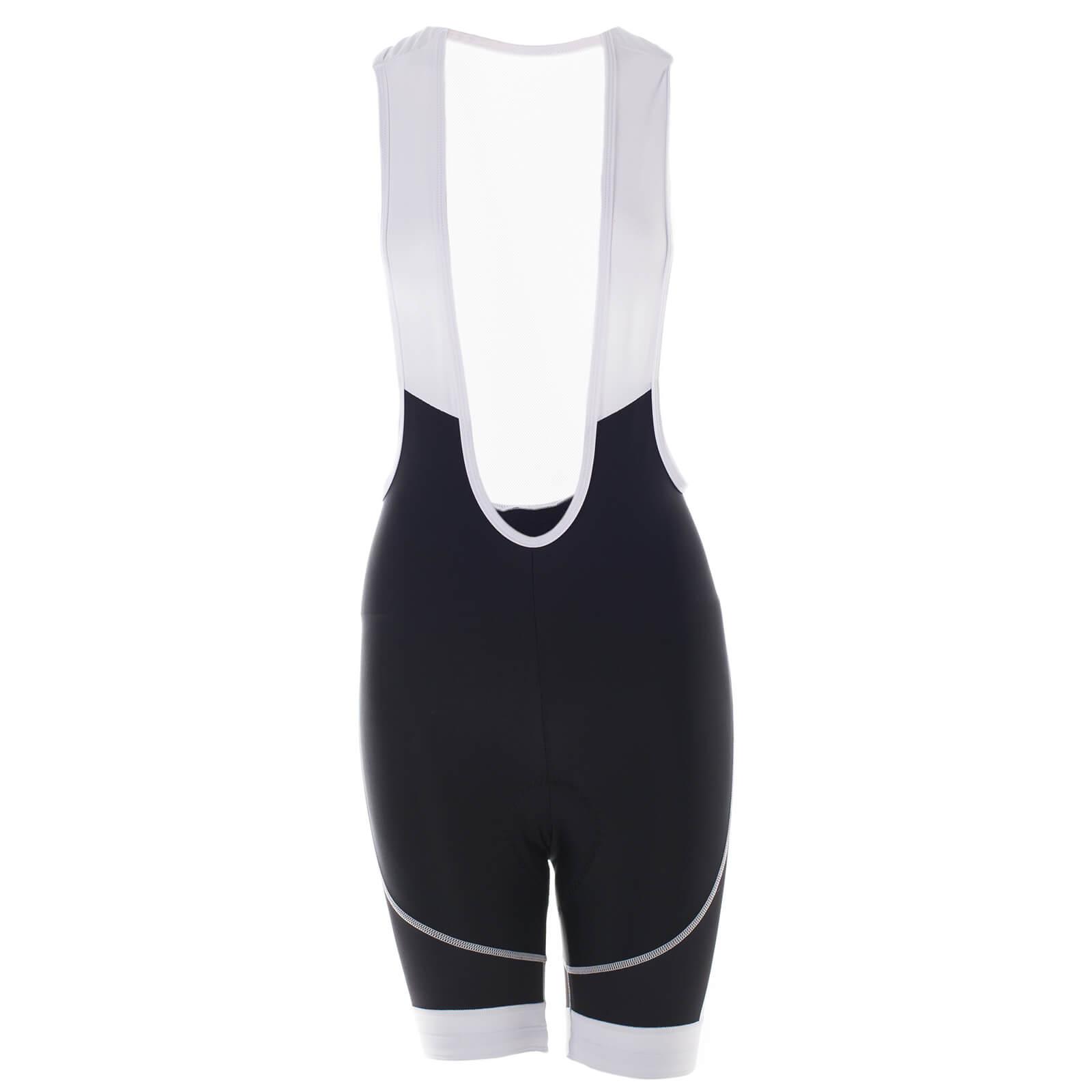 Primal Women's Onyx Prisma Bib Shorts - Black/White
