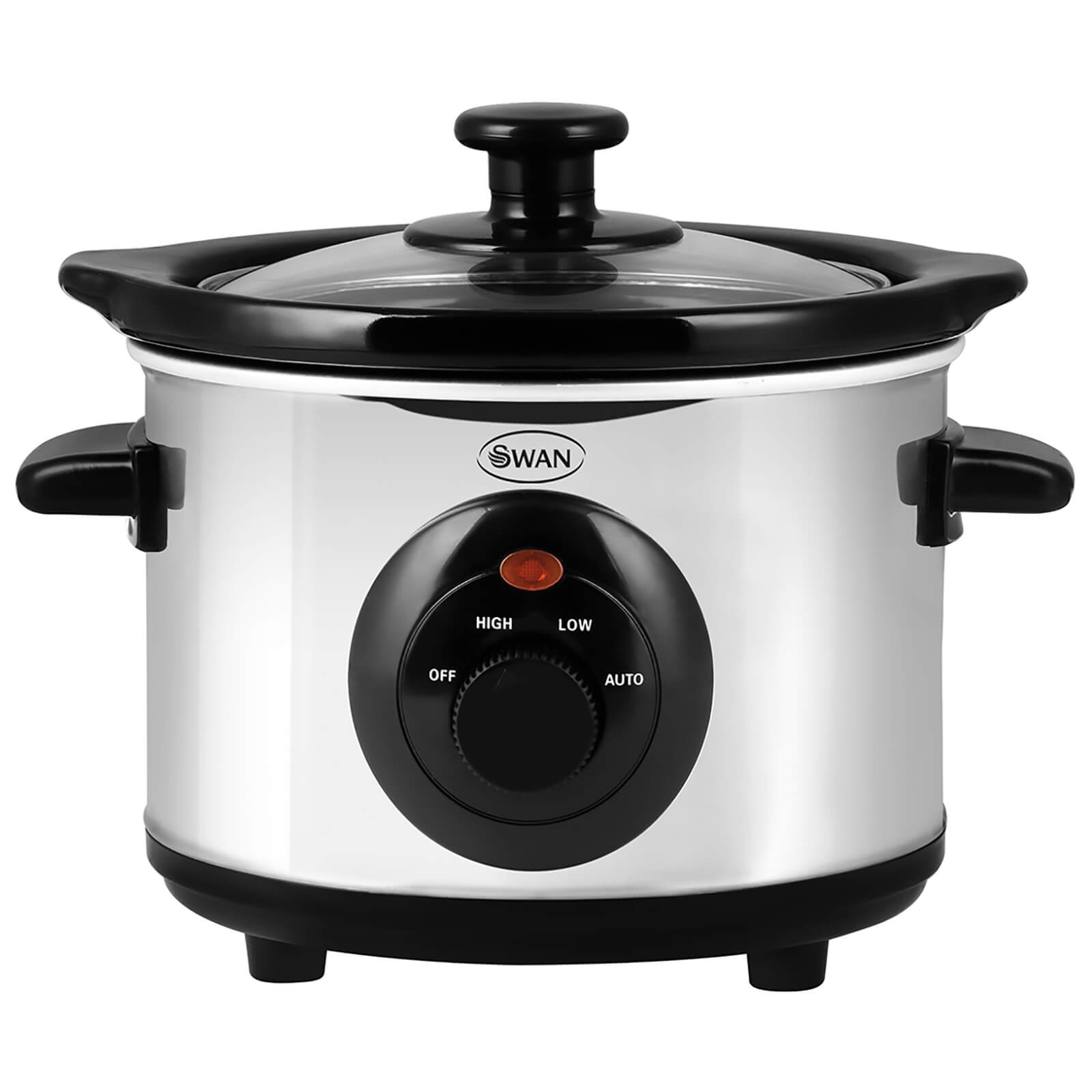 Swan SF17010N Slow Cooker - Stainless Steel - 1.5L