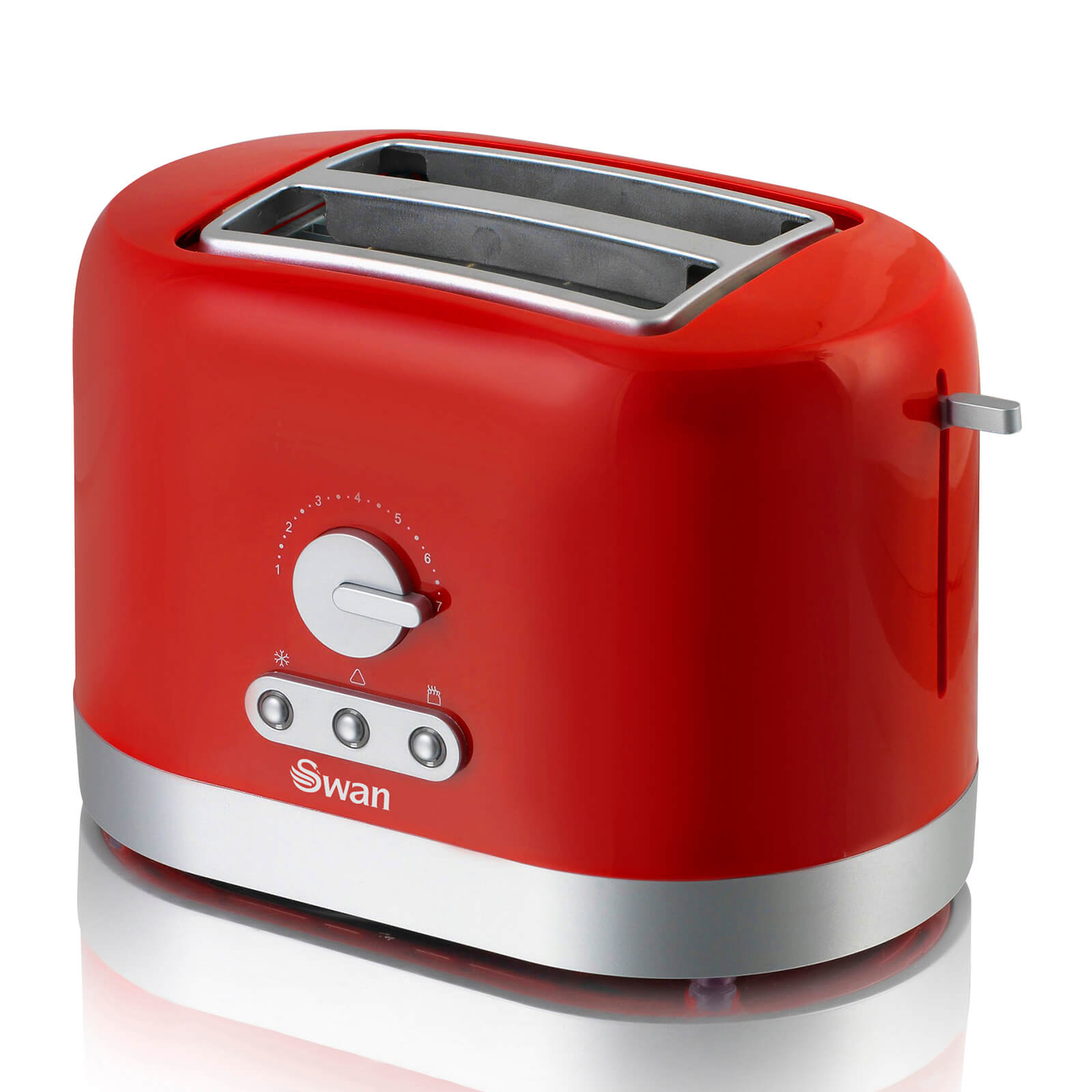 Swan ST10020RedN 2 Slice Toaster - Red