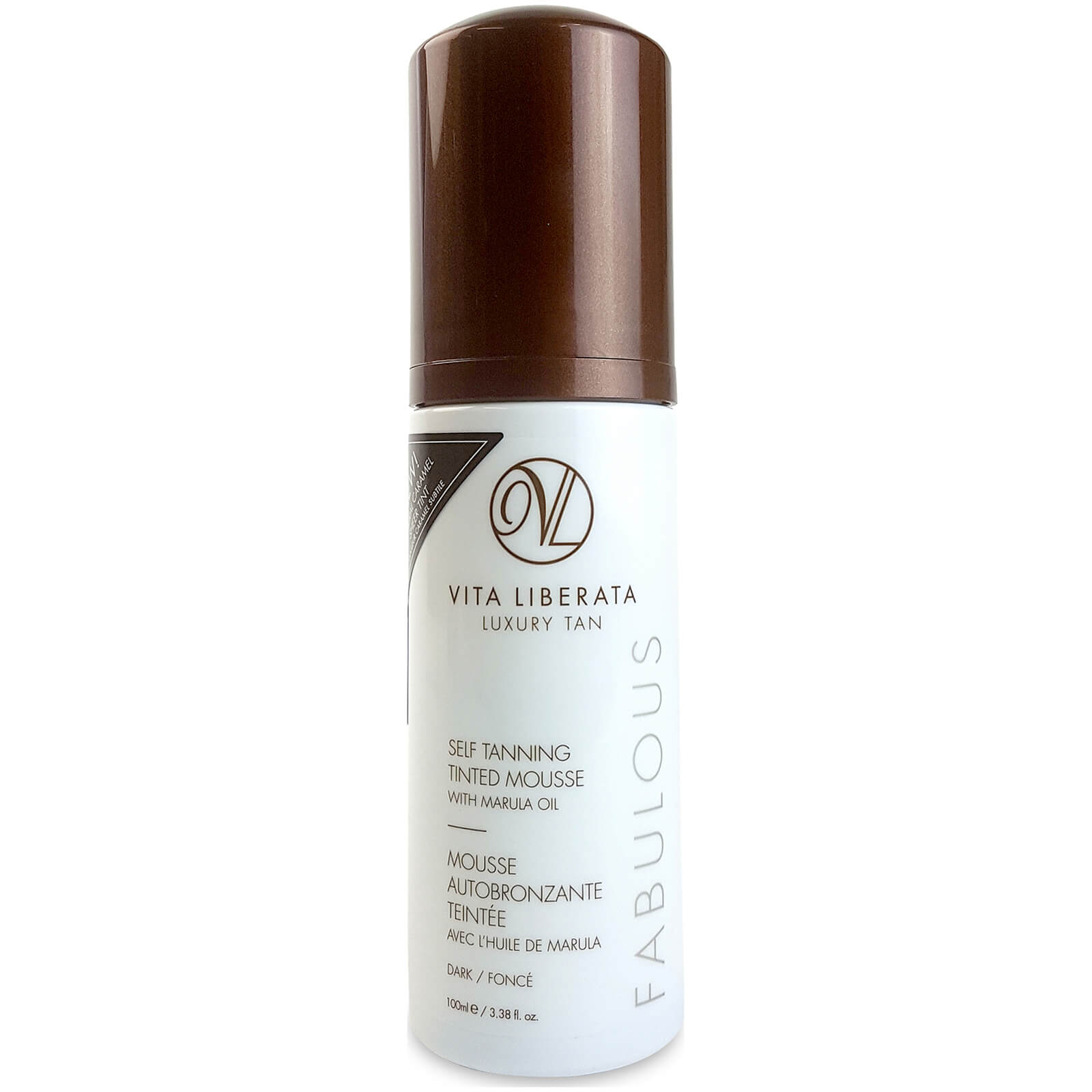 Vita Liberata Fabulous Self Tanning Tinted Mousse Dark 100ml
