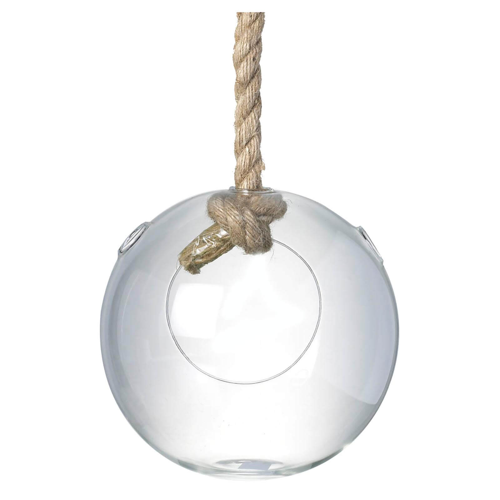 Parlane Hanging Glass Sphere