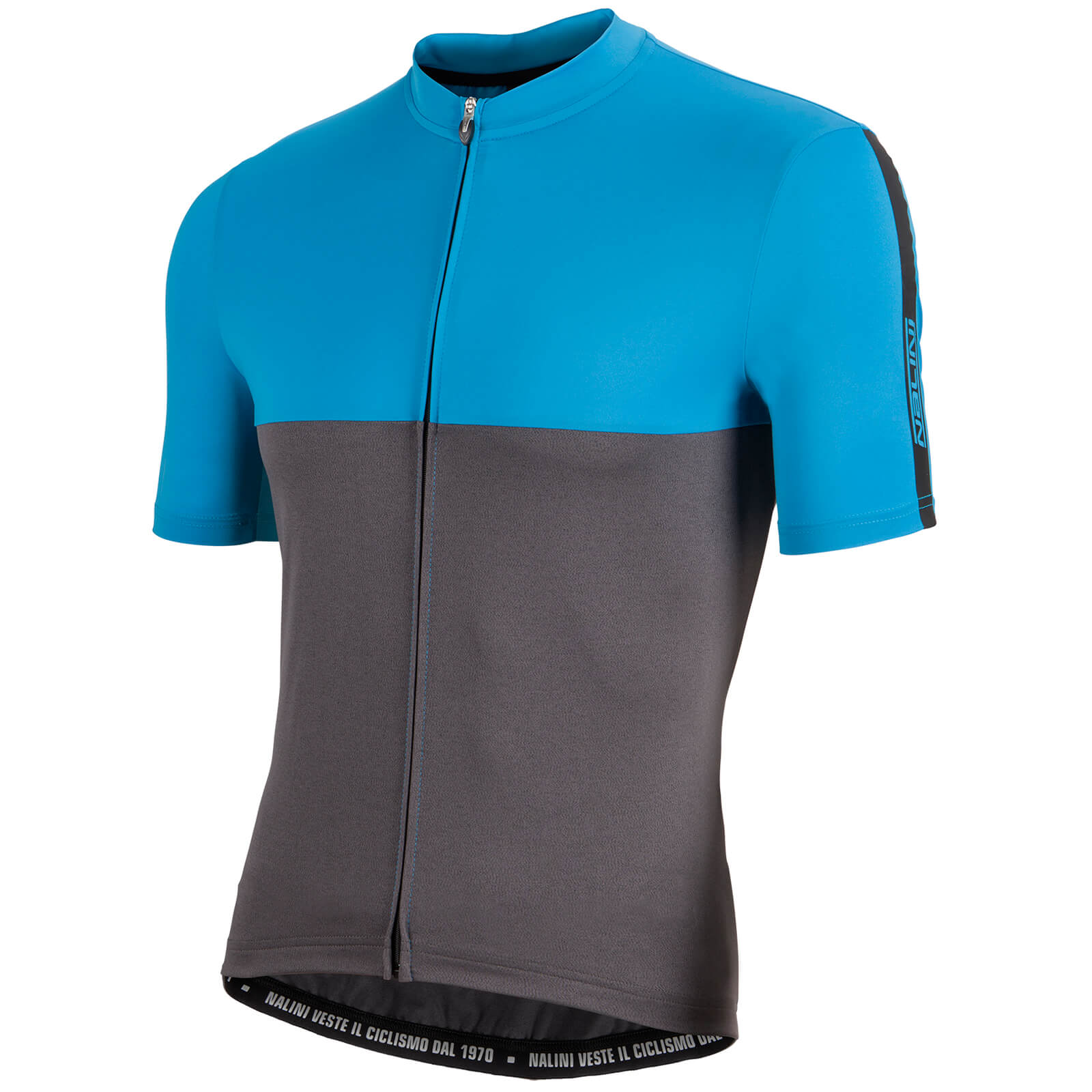 Nalini Mantova Short Sleeve Jersey - Blue/Grey