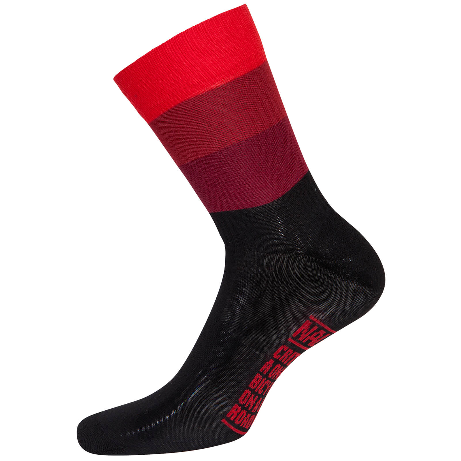Nalini Blue Socks - Black/Red