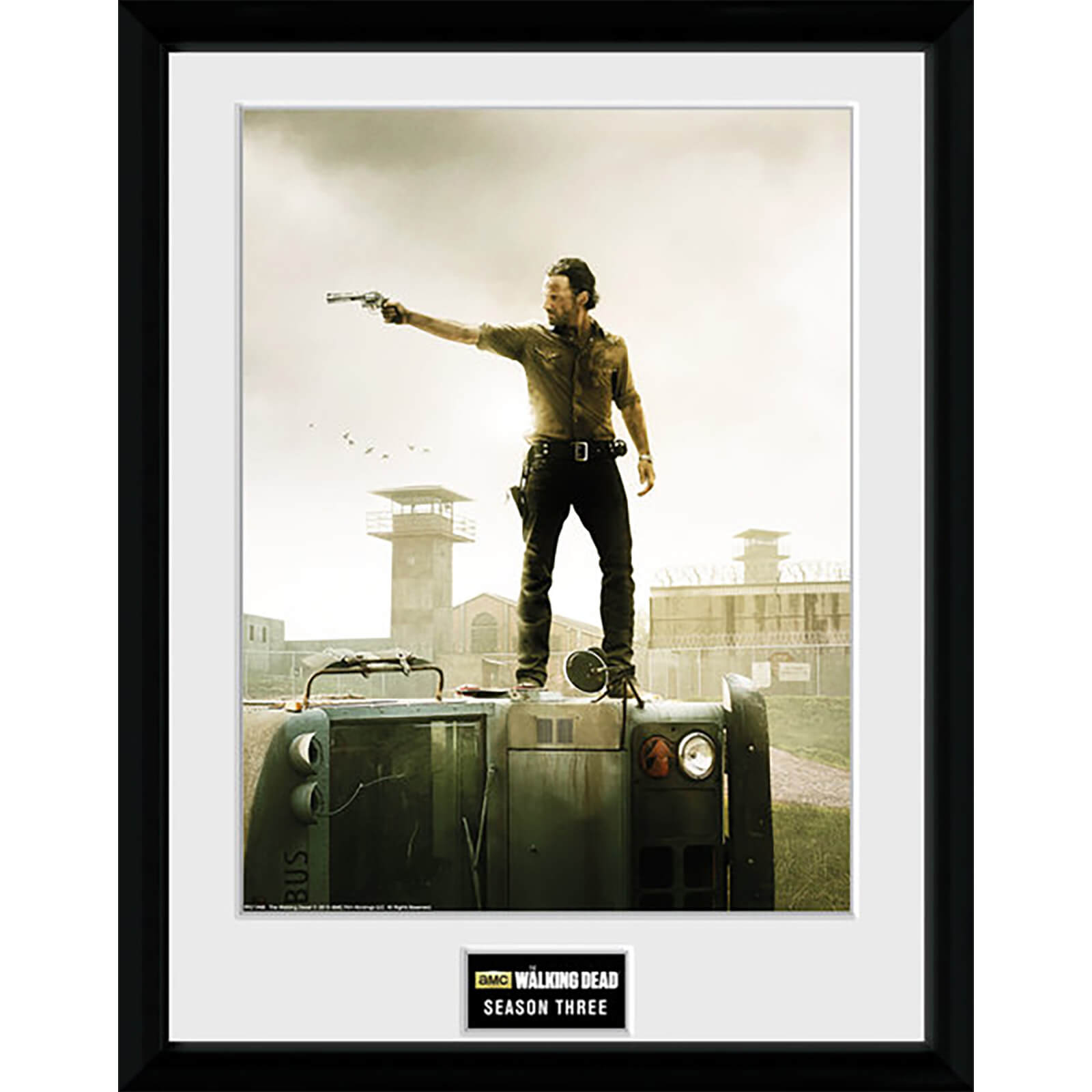 The Walking Dead Season 3 - 16 x 12 Inches Framed Photographic