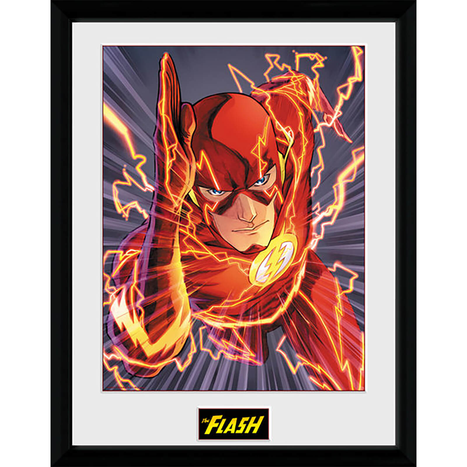 DC Comics Justice League The Flash - 16 x 12 Inches Framed Photographic