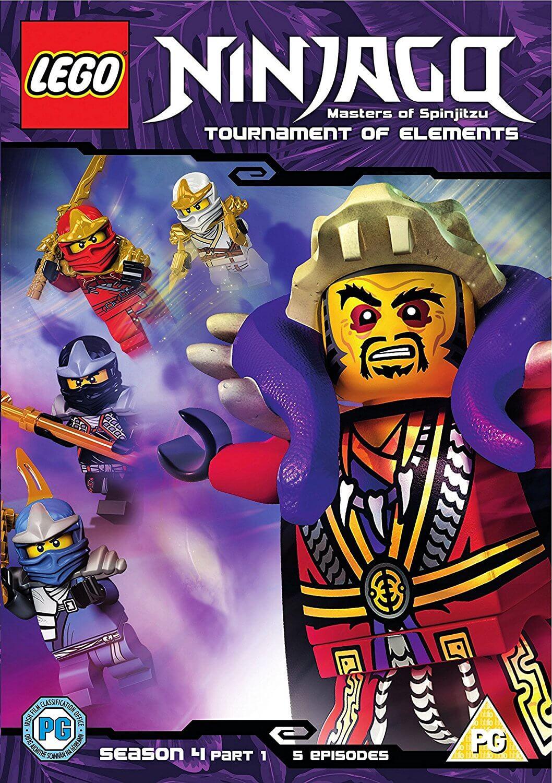 Lego ninjago serie 4