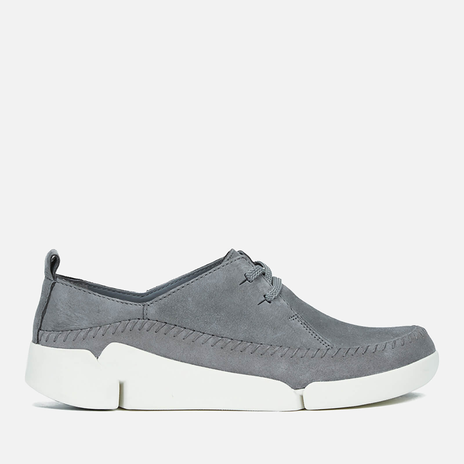 Clarks Women's Tri Angel Leather Sporty Shoes GreyBlue