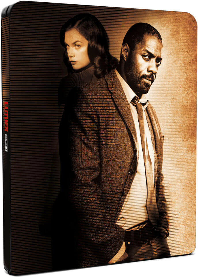 Luther: Series 1 - Zavvi Exclusive Limited Edition Steelbook (Limited to 2000) (UK EDITION)
