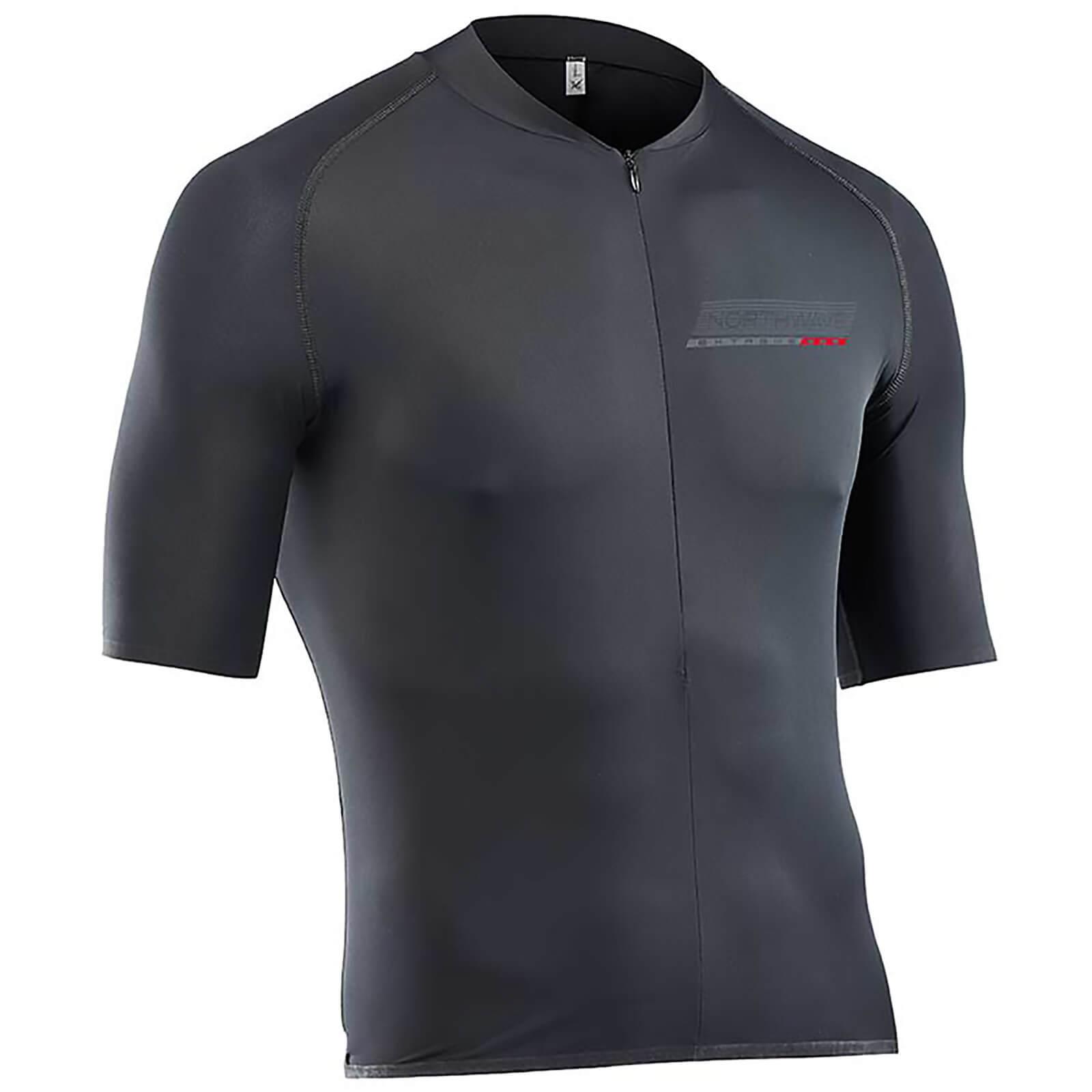 innovative design 0a92c 6b29d Northwave Extreme 68G Full Zip Short Sleeve Jersey - Black   ProBikeKit.com