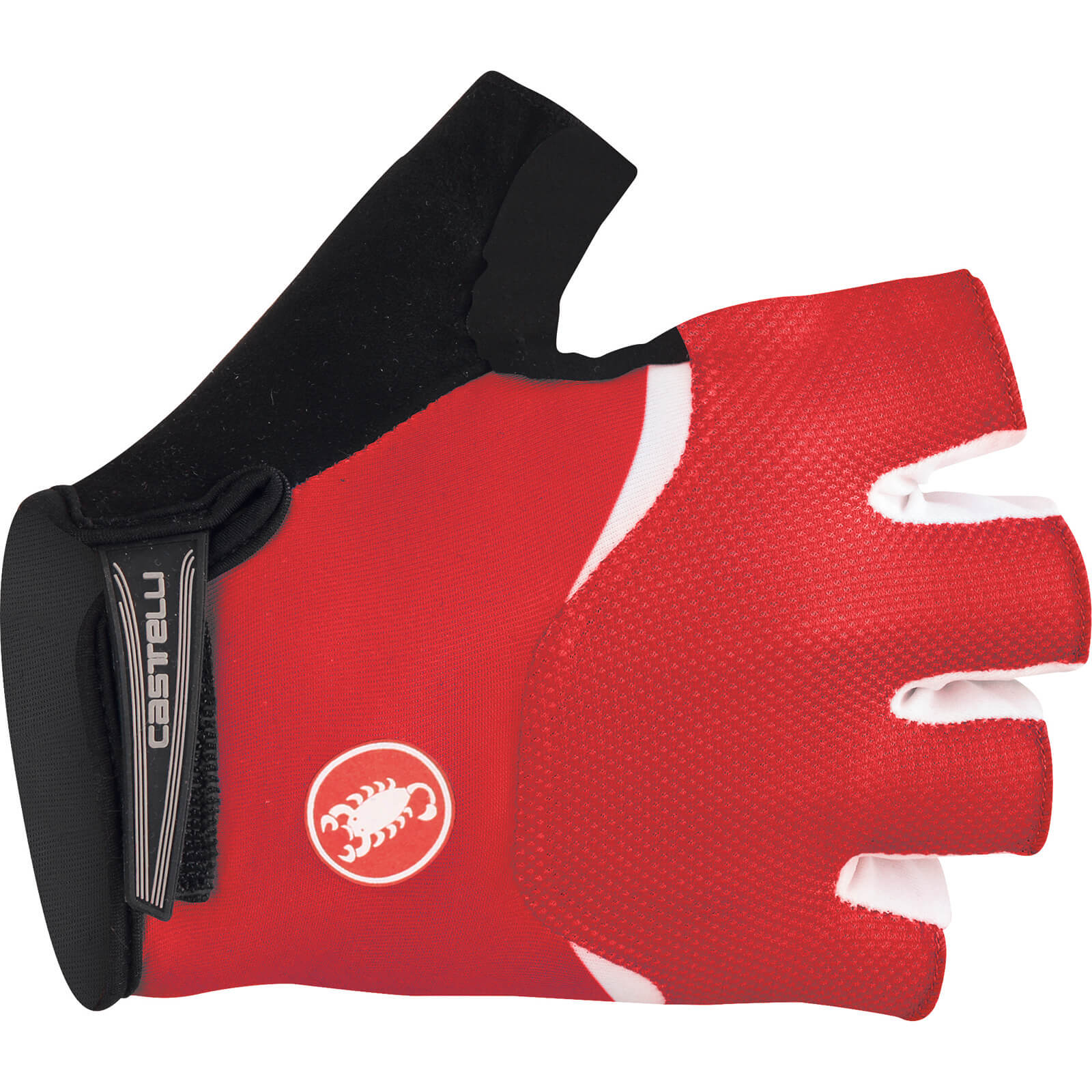 Castelli Arenberg Gel Gloves - Red/White