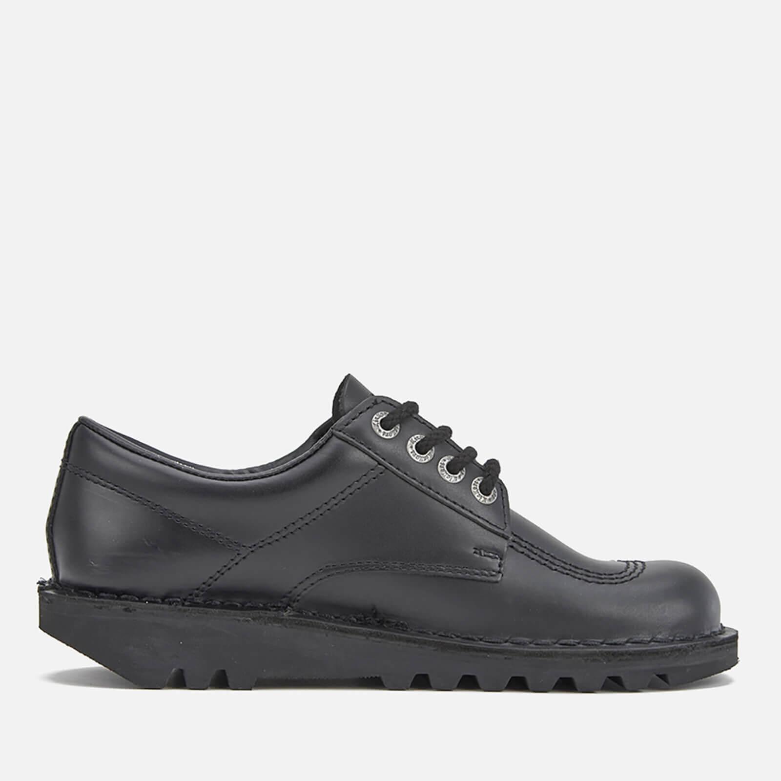 abc93febad Kickers Women's Kick Lo Lace Up Shoes - Black Womens Footwear | Zavvi
