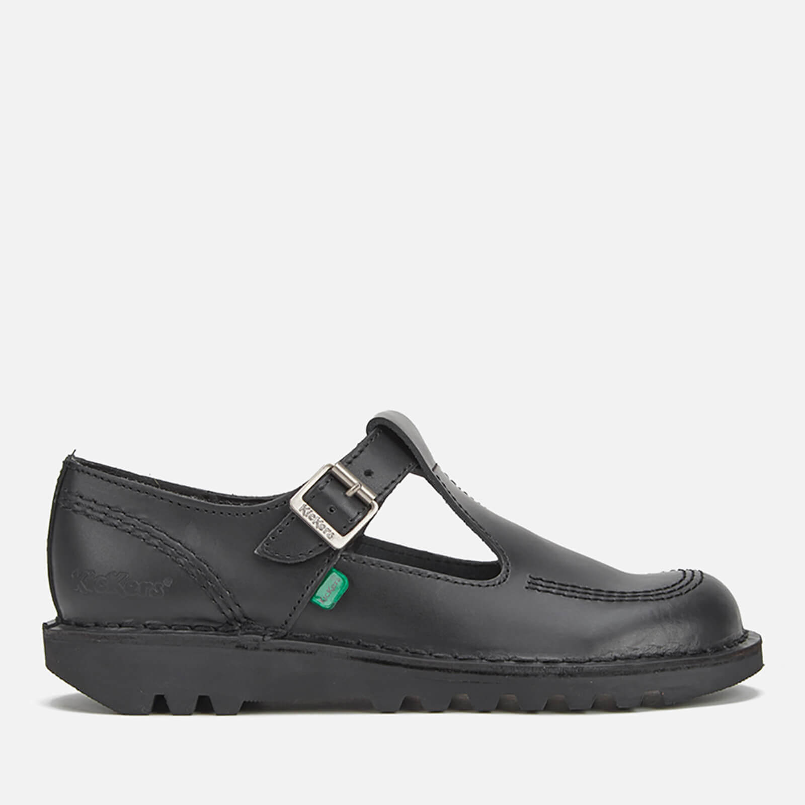 bce8c011a5052b Chaussures Kickers Femme Kick Lo Aztec T-Bar -Noir Womens Footwear ...