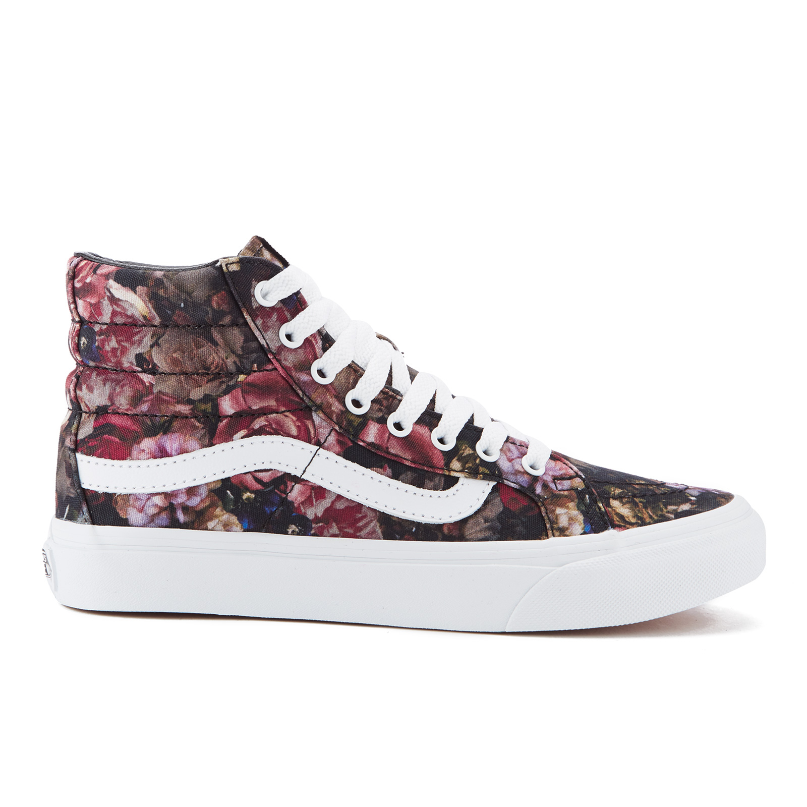 3913431d2cfd Vans Women s Sk8-Hi Floral Trainers - Moody Floral Black True White - Free  UK Delivery over £50