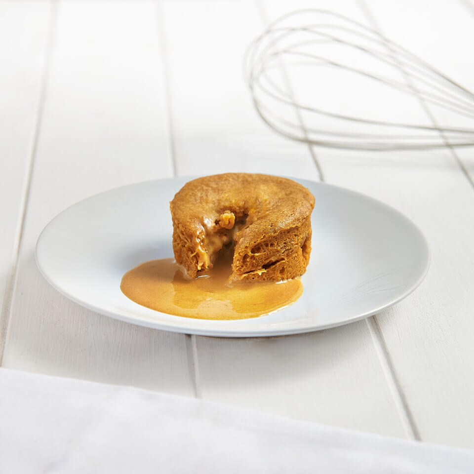Meal Replacement Gooey Salted Caramel Pudding