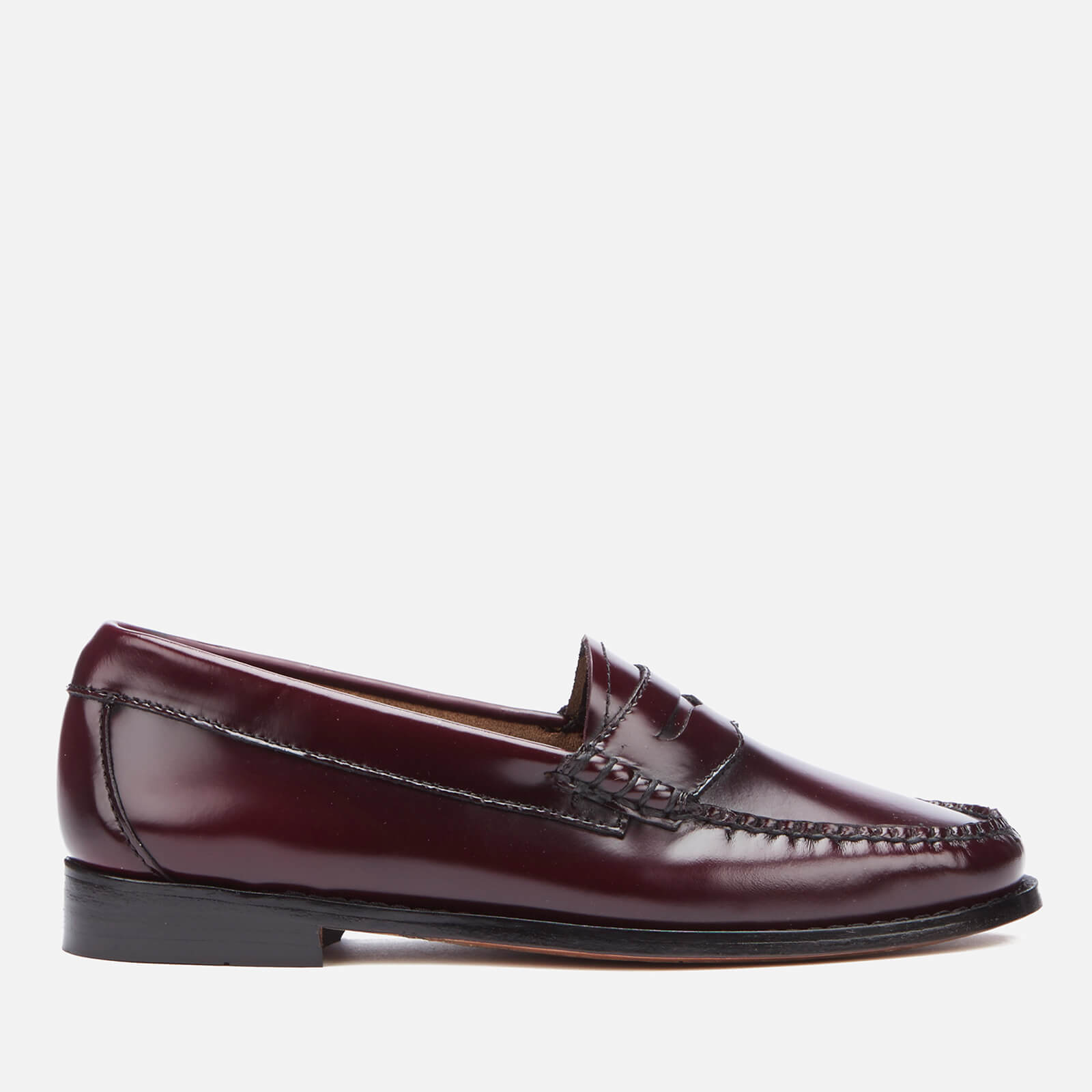 52079735665 Bass Weejuns Women s Penny Leather Loafers - Wine - Free UK Delivery over  £50