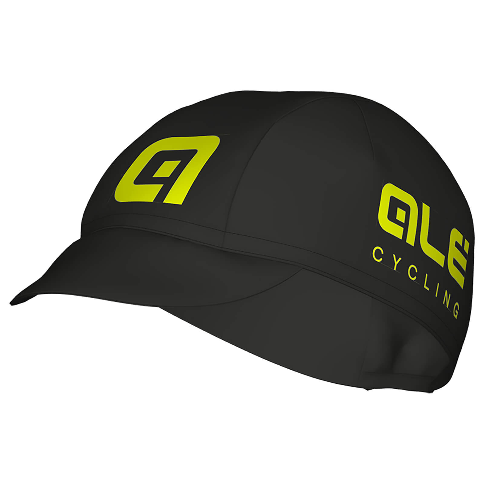 Alé Cotton Cap - Black/Yellow