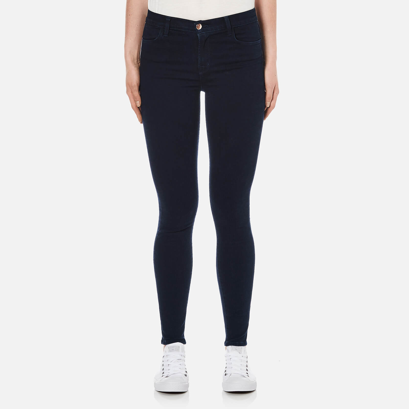 aeea1bb75a8e J Brand Women s Maria High Rise Skinny Jeans - Bluebird - Free UK Delivery  over £50