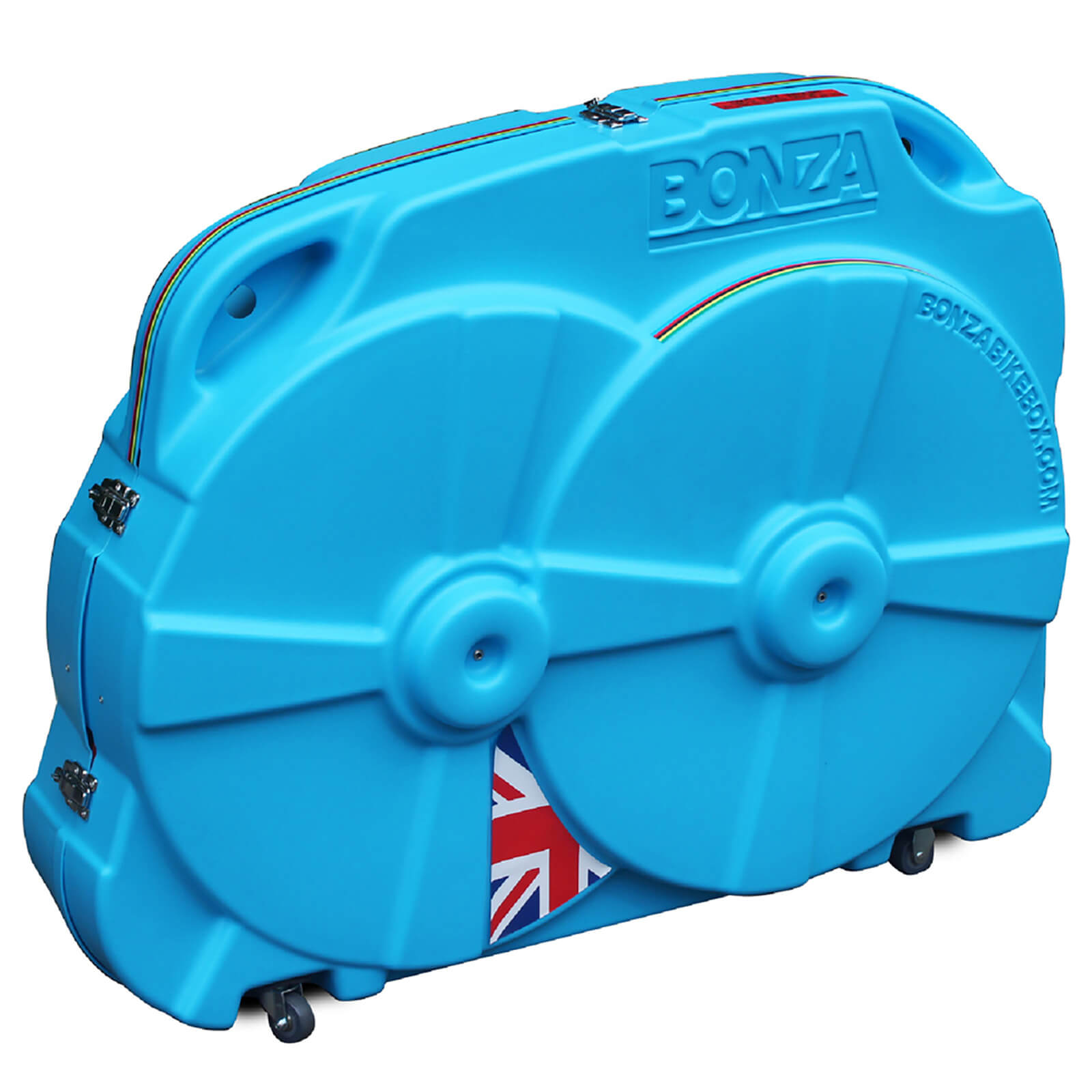 Bonza Hard Bike Travel Case - Blue