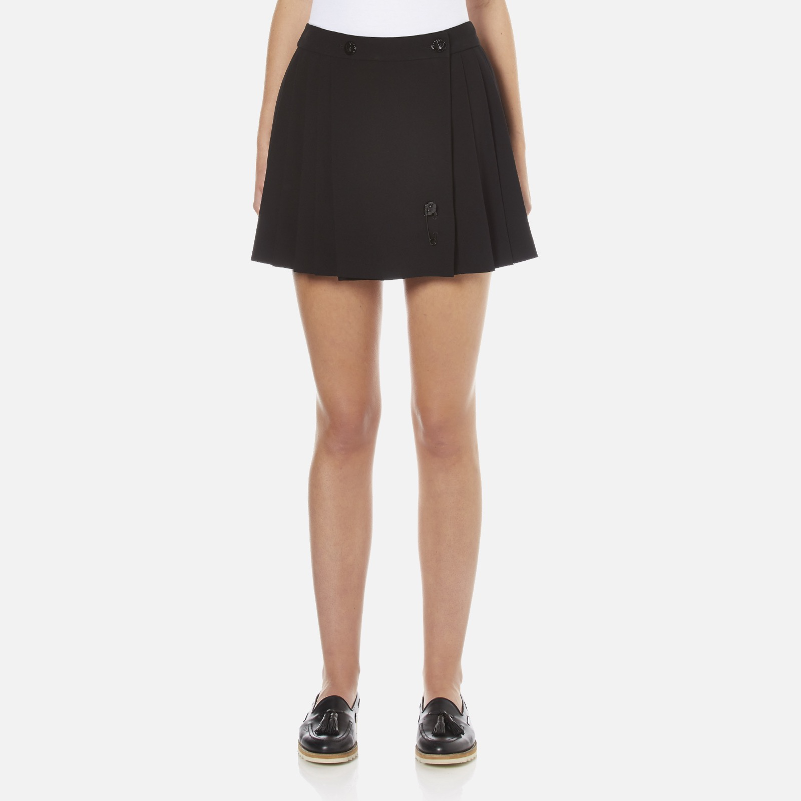 926cc919 KENZO Women's Pleated Skirt - Black