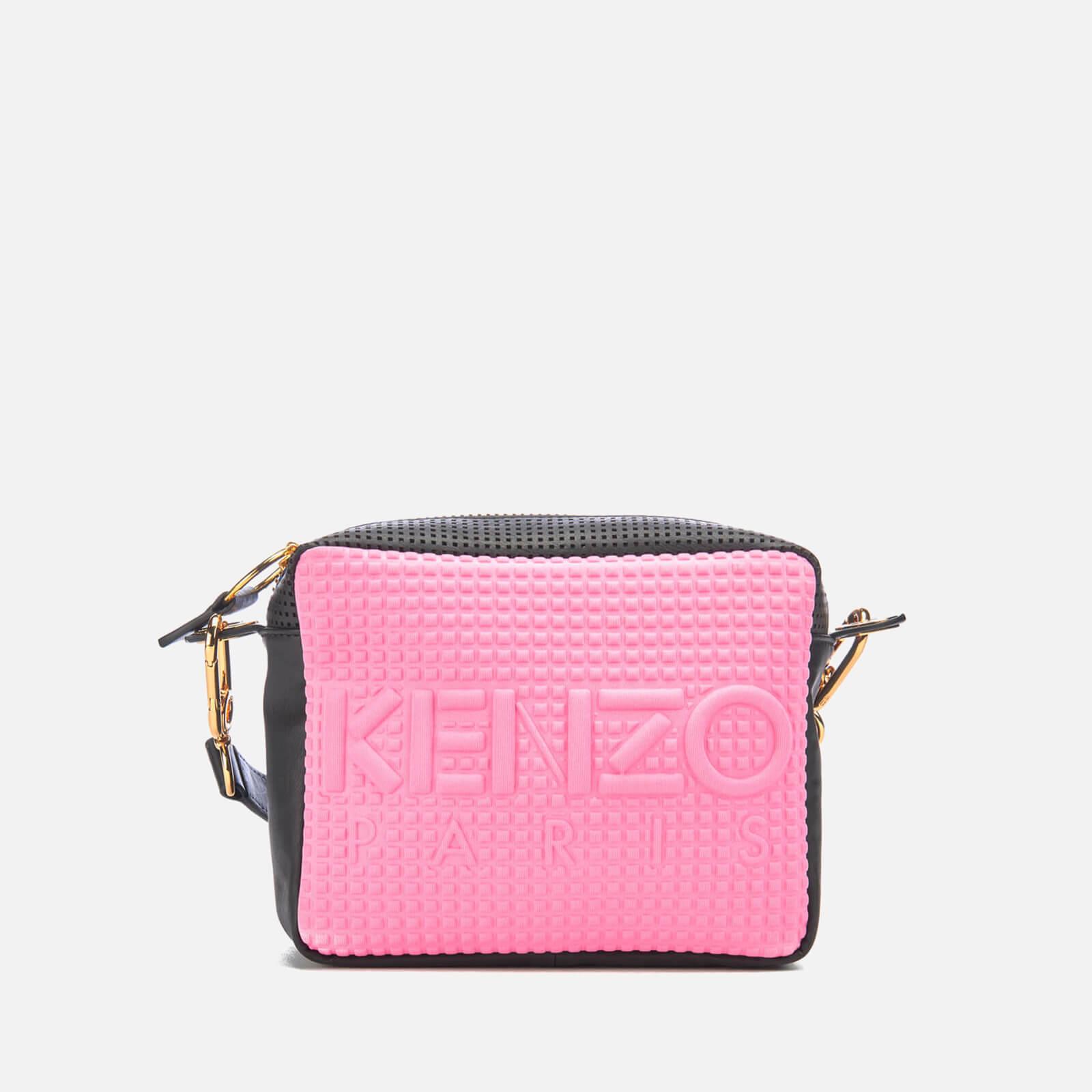 404e97a29e KENZO Women's Kombo Camera Bag - Pink/Bordeaux - Free UK Delivery over £50