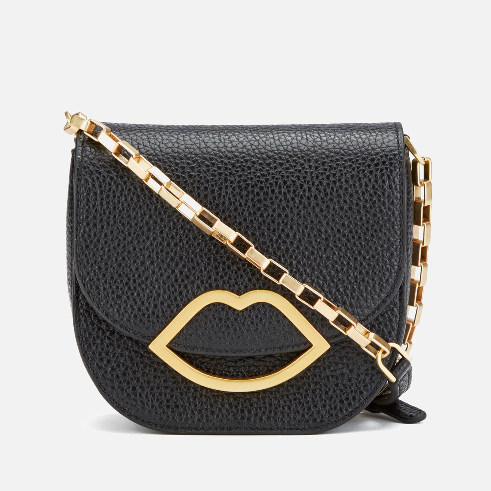 7a1c57f23 Lulu Guinness Women's Amy Small Crossbody Bag - Black - Free UK Delivery  over £50