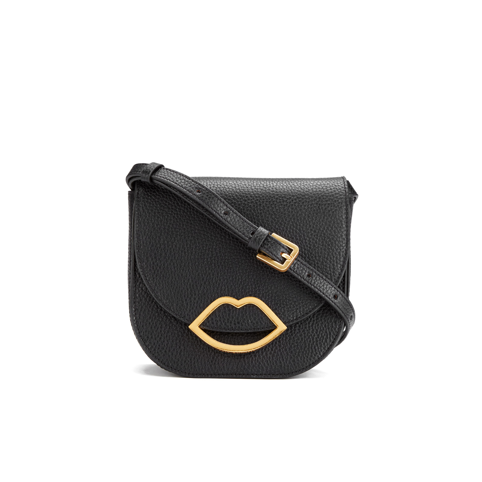 f871cc4d58ae Lulu Guinness Women s Zoe Large Crossbody Bag - Black - Free UK Delivery  over £50
