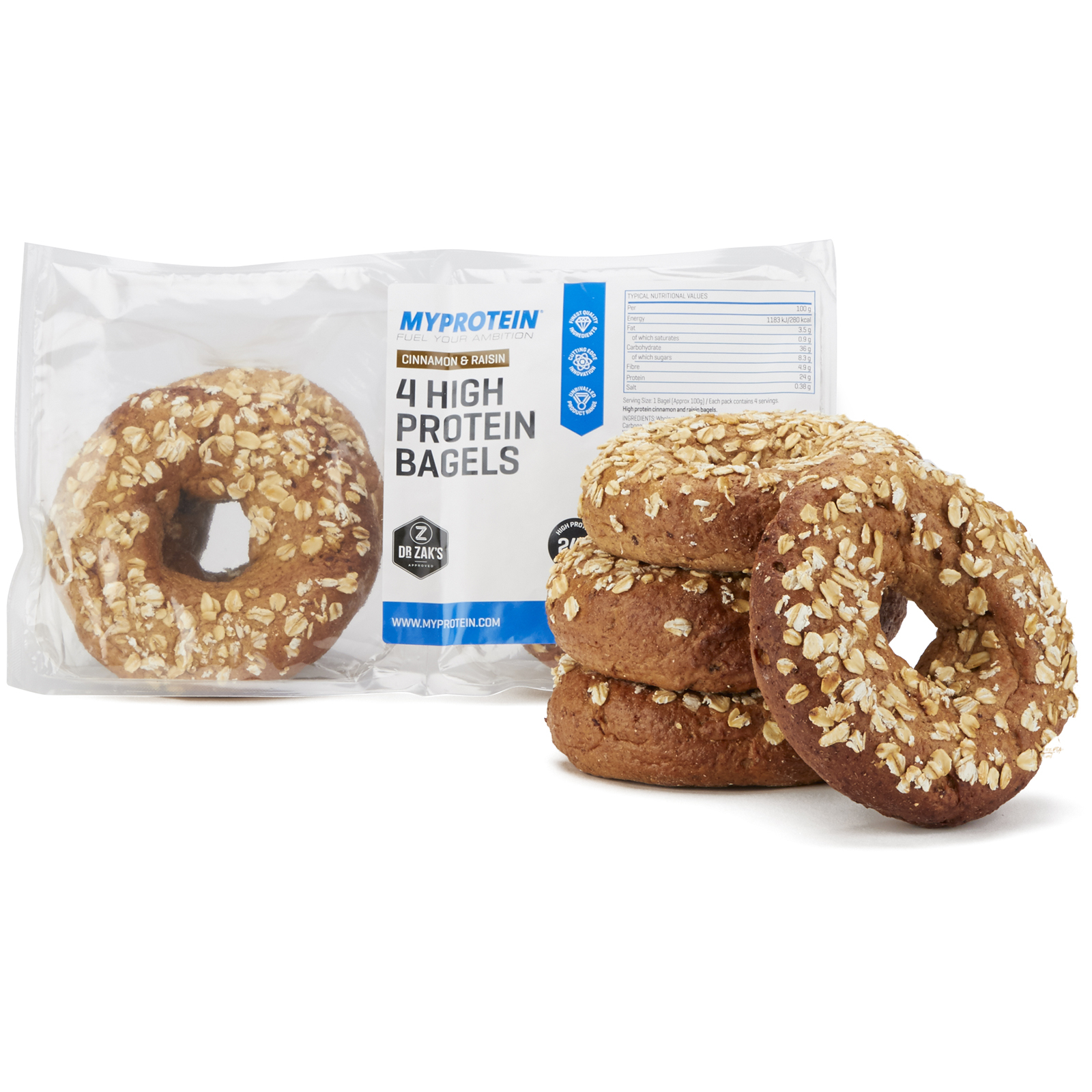 Dr Zak's High Protein Bagels
