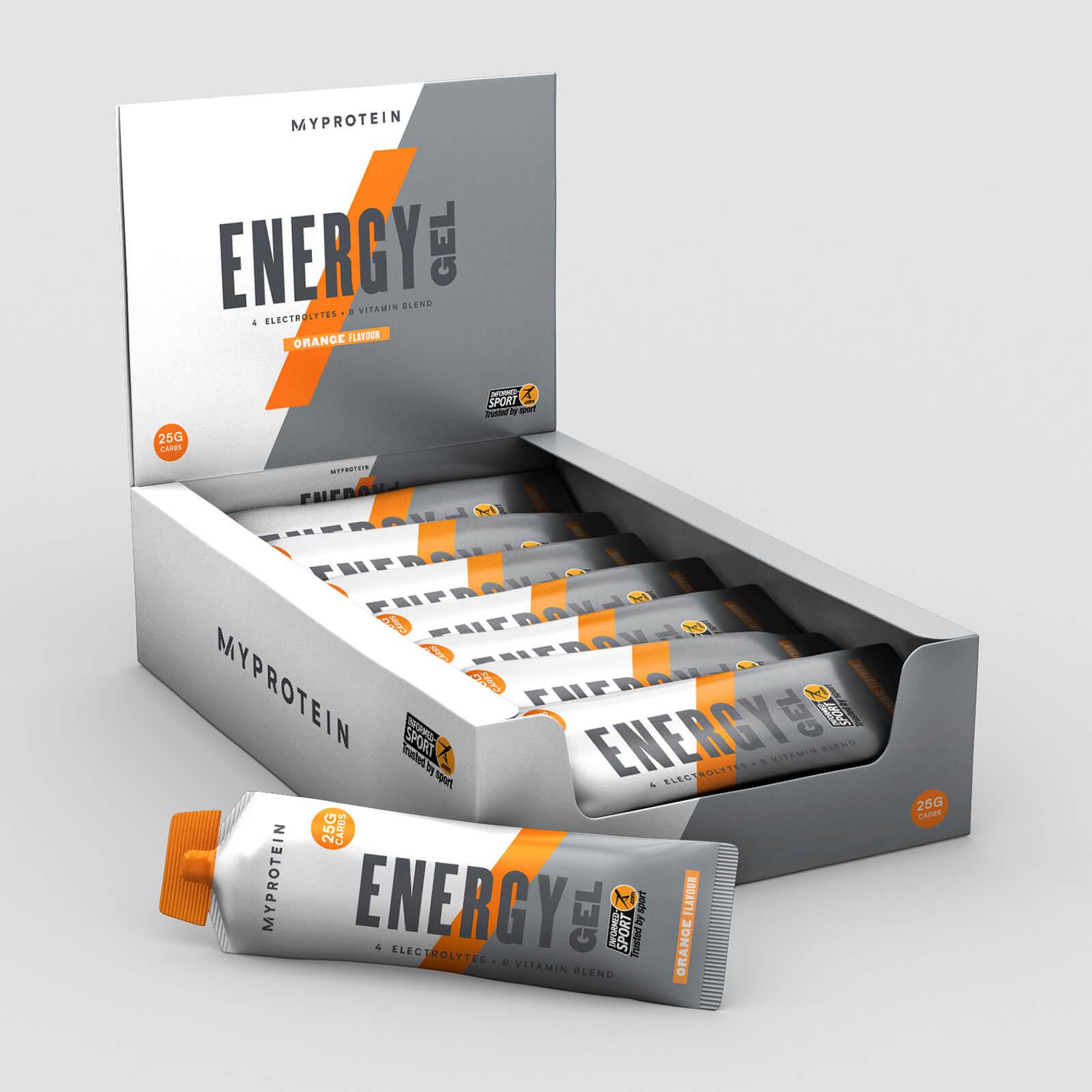 エナジー ゼリー エリート - 20 x 50g - オレンジ