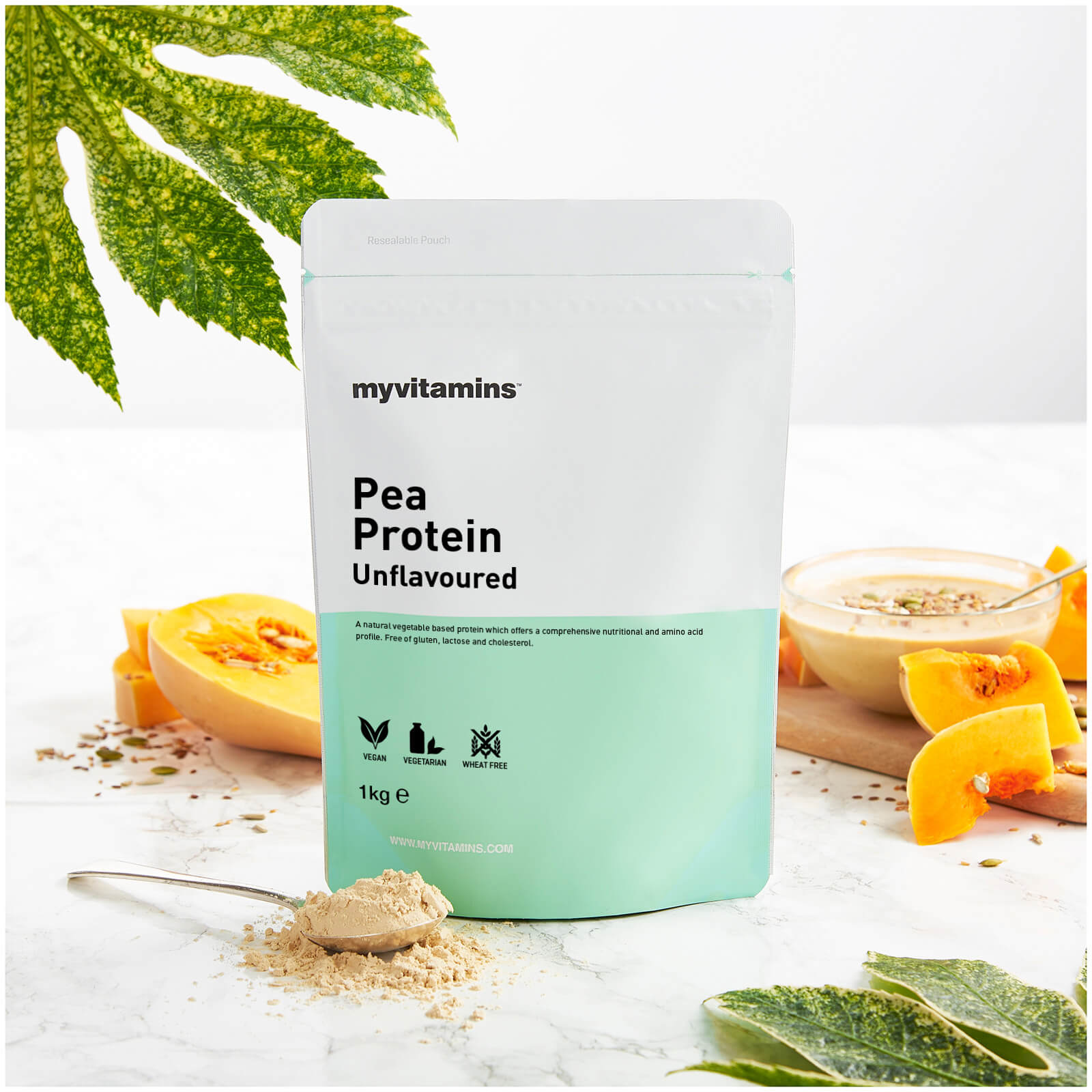 Pea Protein - Unflavoured 1kg