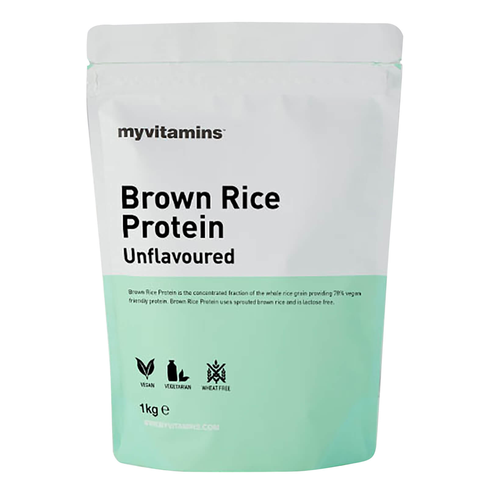 Brown Rice Protein - Unflavoured 1kg