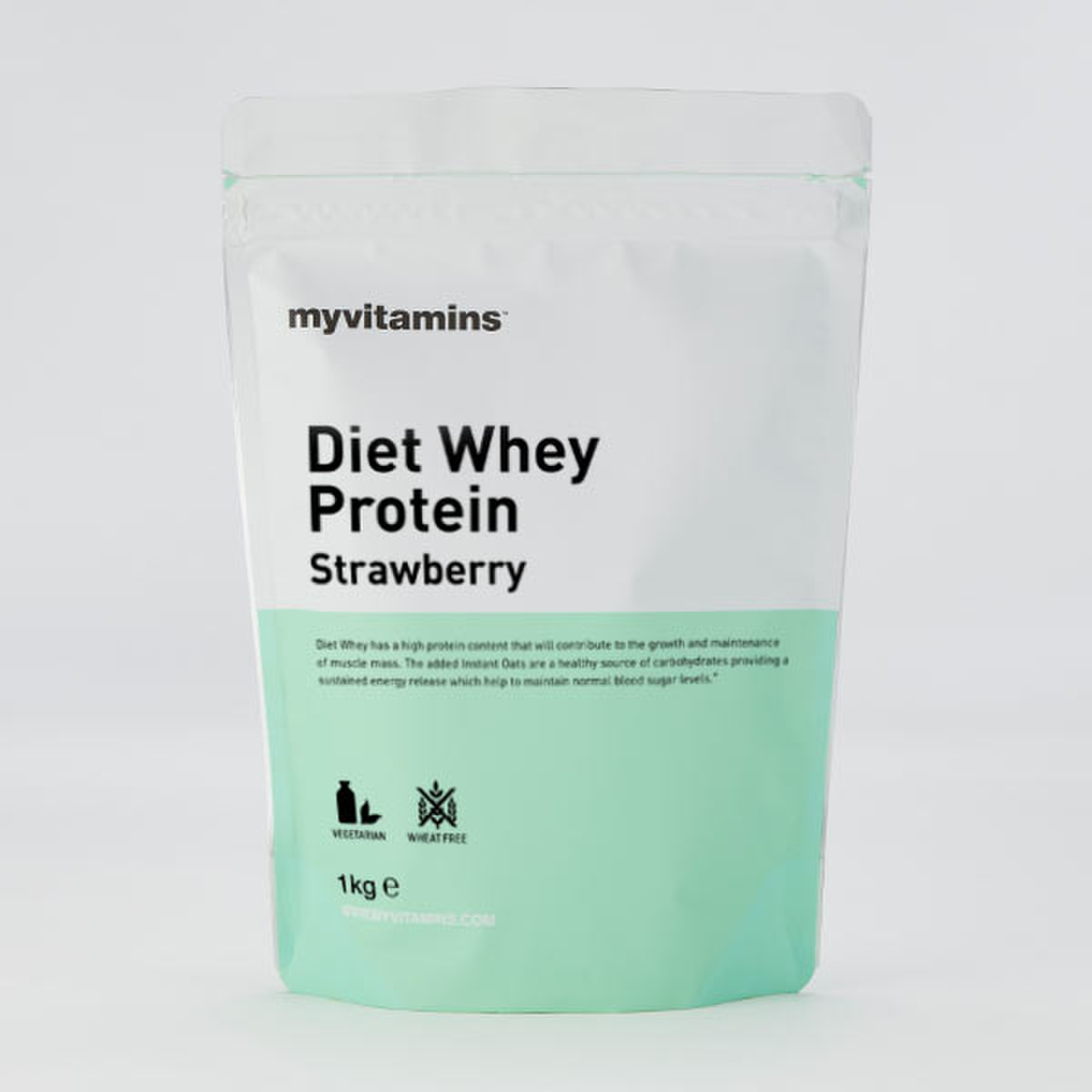 Diet Whey Protein - Strawberry 1kg
