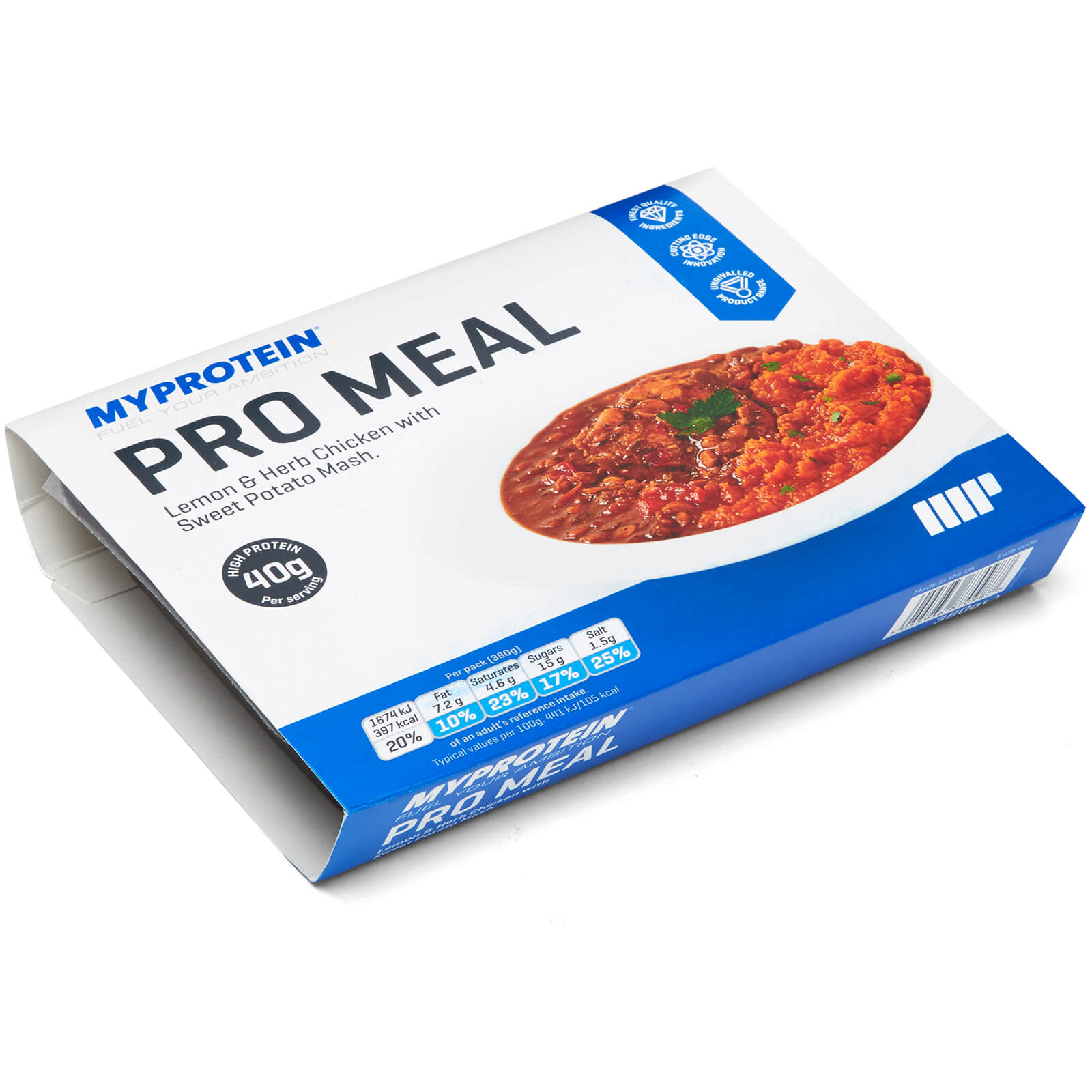 Pro Meals - Lemon Chicken & Sweet Potato Mash - 6 x 380g