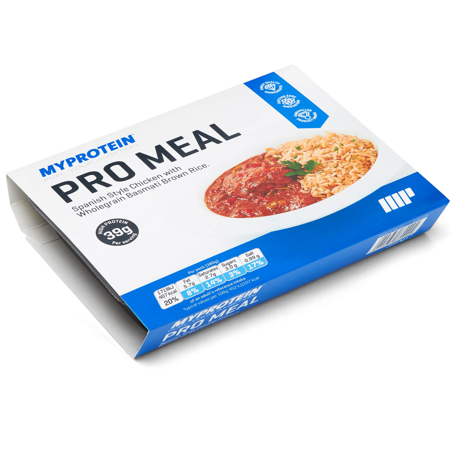 Pro Meals - Spanish Chicken & Brown Rice - 6 x 380g