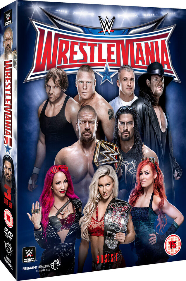 WWE: WrestleMania 32 - Ultimate Collector