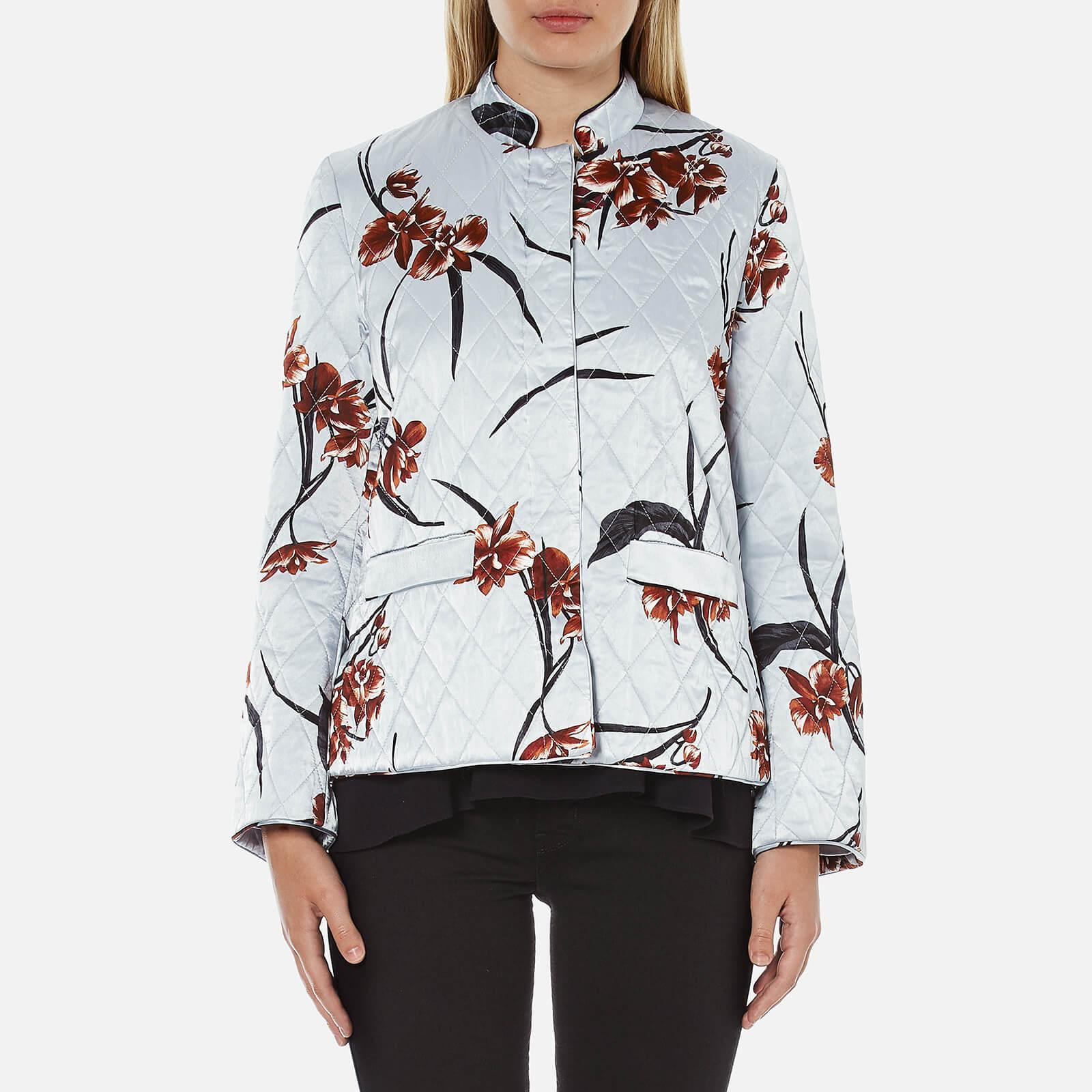 87a0d0f6c Ganni Women's Sanders Satin Jacket - Red Orchid