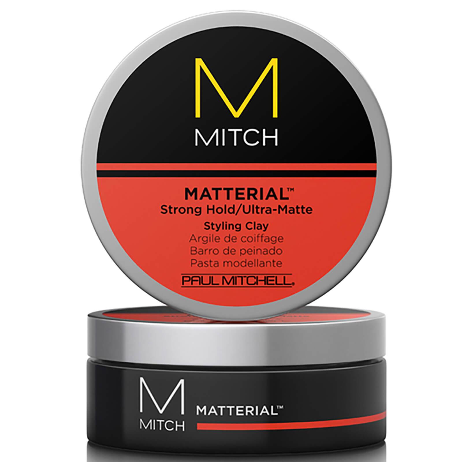 Mitch Matterial >> Paul Mitchell Mitch Matterial Ultra Matte Styling Clay 85g Free