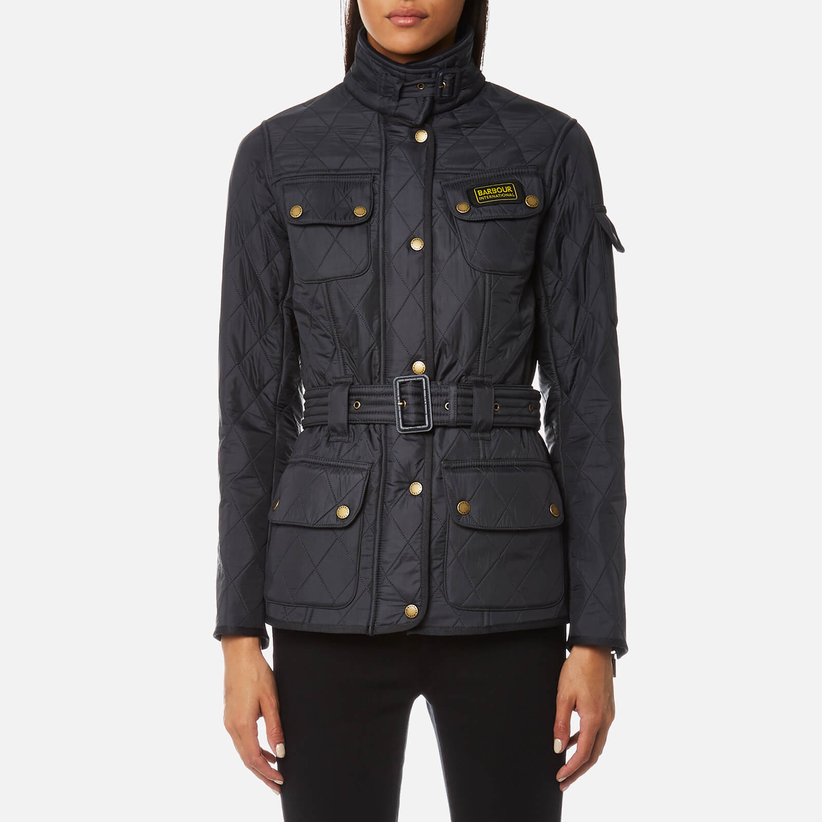 fdf8aeefb Barbour International Women's Polarquilt Jacket - Darker Navy