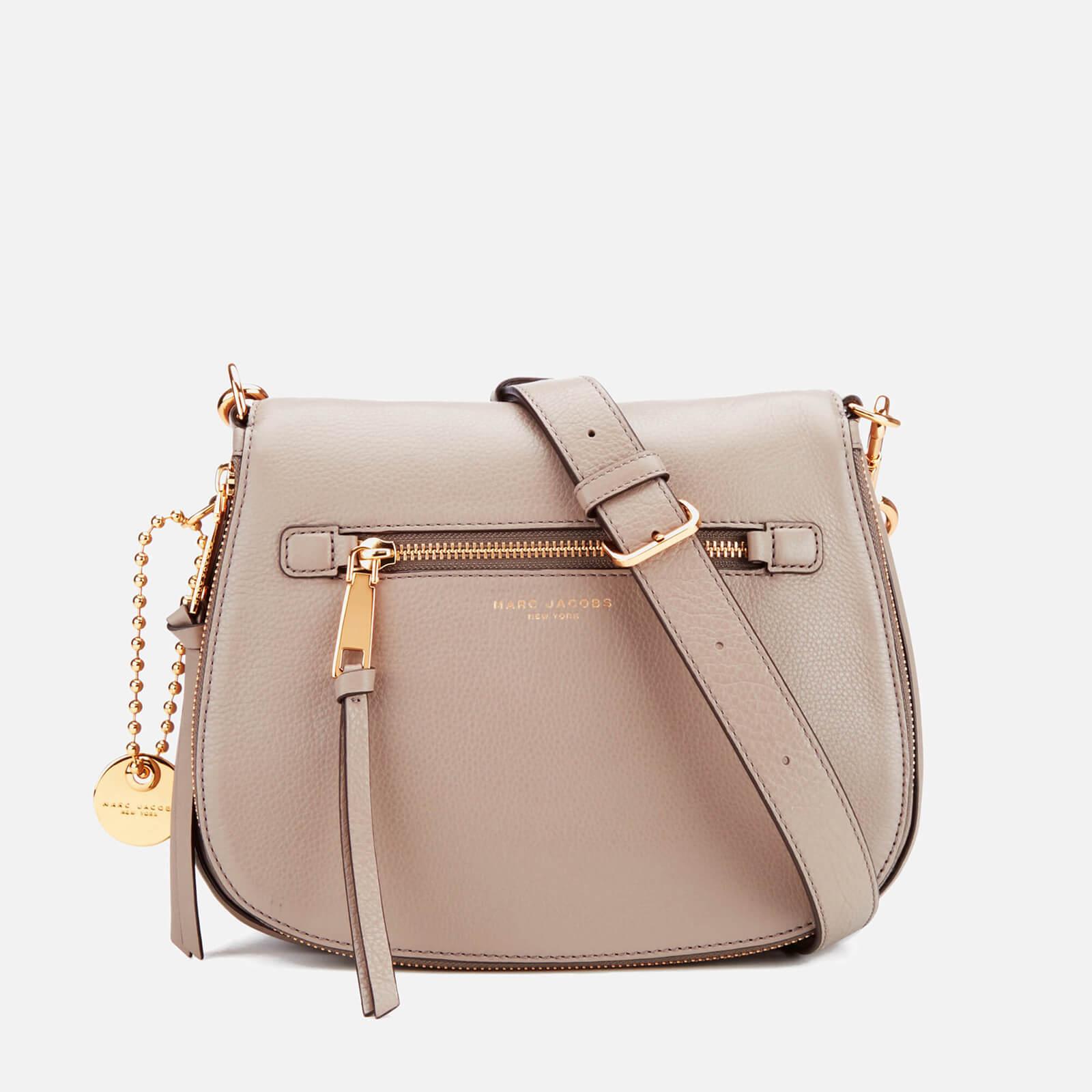 2d2169ff2d7b Marc Jacobs Women s Recruit Saddle Bag - Mink - Free UK Delivery ...
