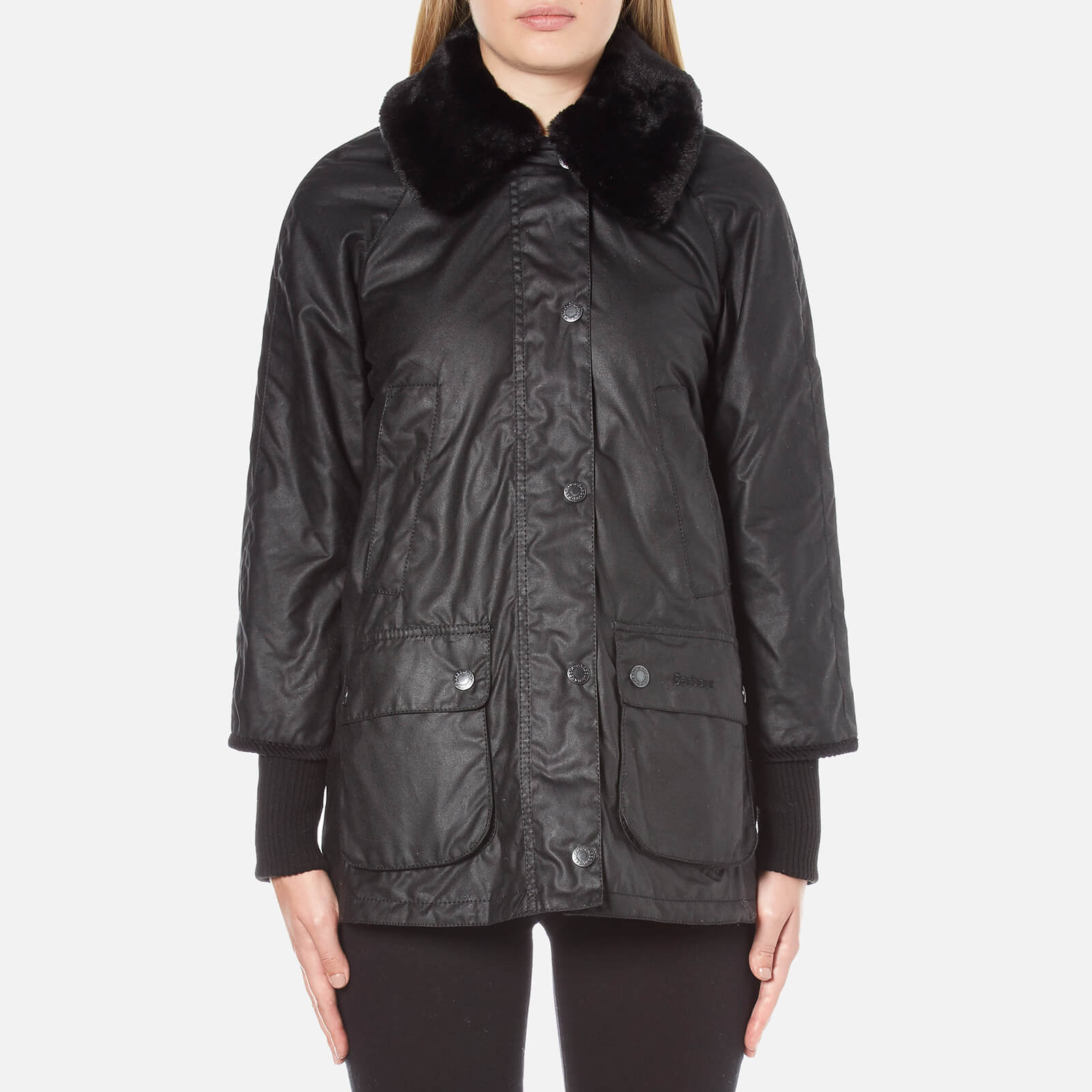 aa6c5c2ed9426 Barbour Women's Snow Bedale Jacket - Black - Free UK Delivery over £50